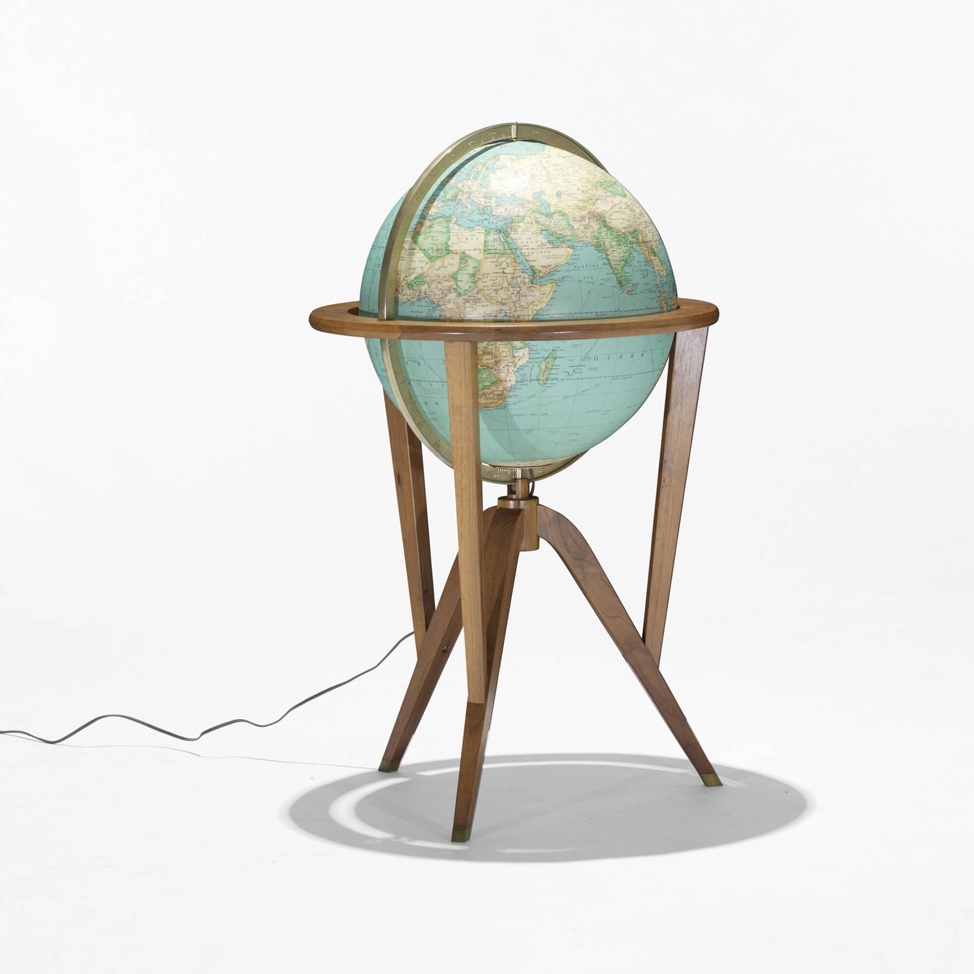 Modern Home Design October 2012: 265: EDWARD WORMLEY, Cosmopolitan Globe