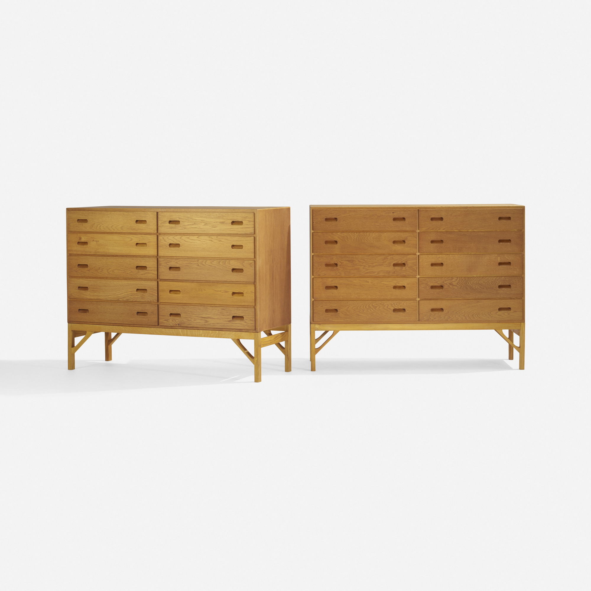 265: Børge Mogensen / cabinets, pair (1 of 3)