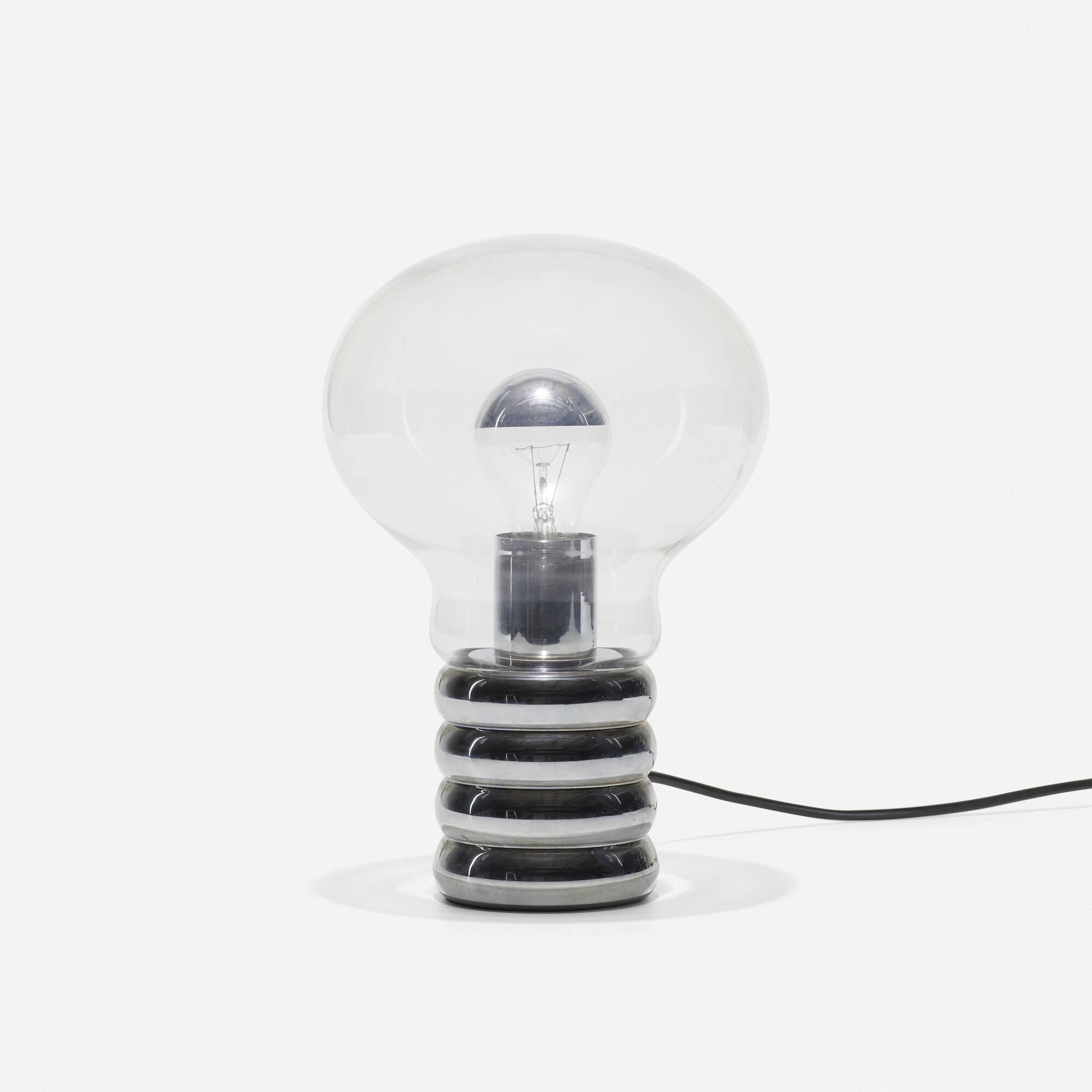 265: Ingo Maurer / Bulb table lamp (1 of 2)