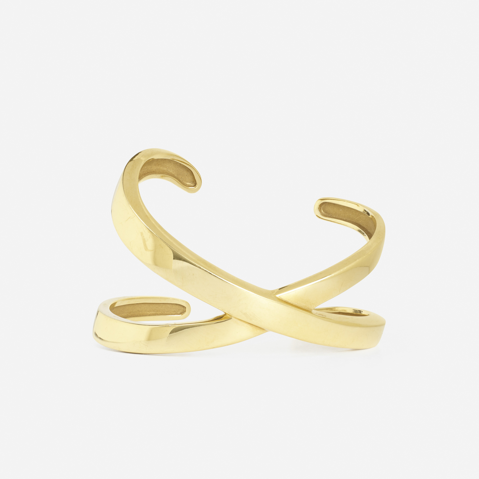 265: Paloma Picasso for Tiffany & Co. / A gold bangle from the X Collection (2 of 2)