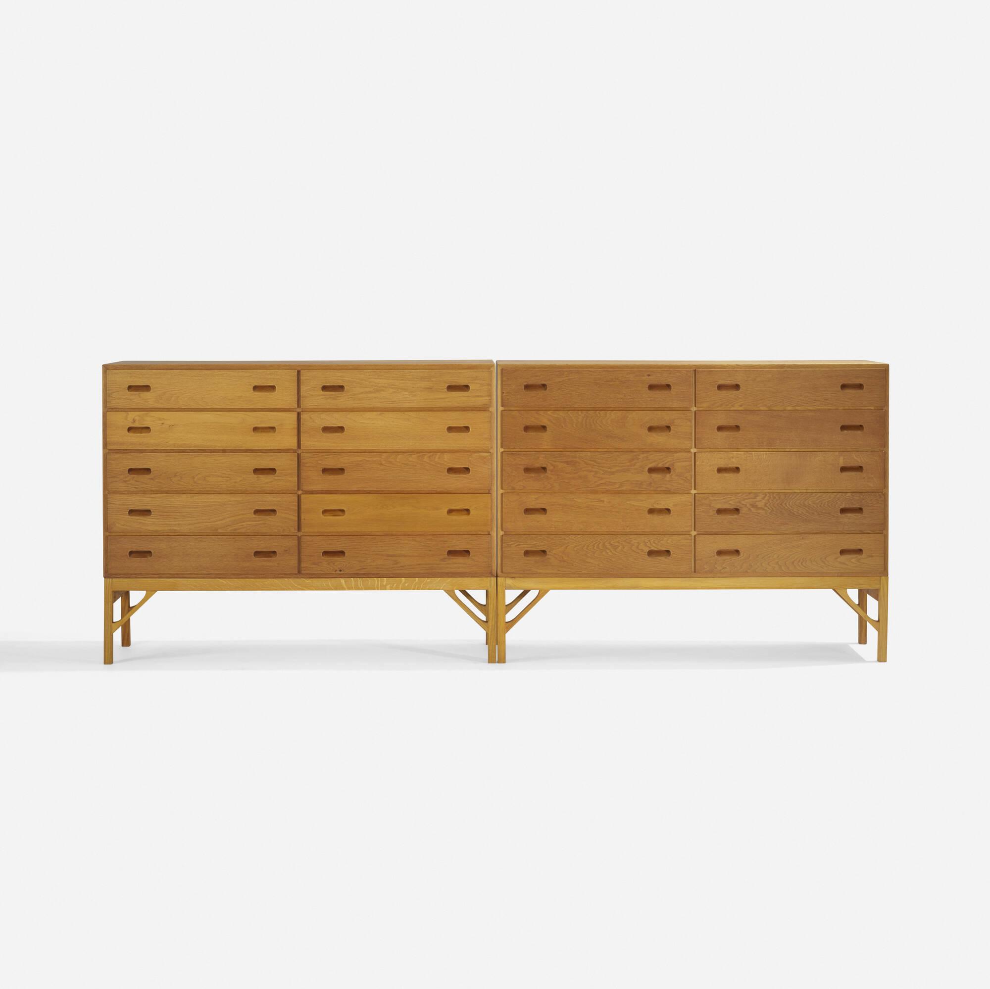 265: Børge Mogensen / cabinets, pair (2 of 3)