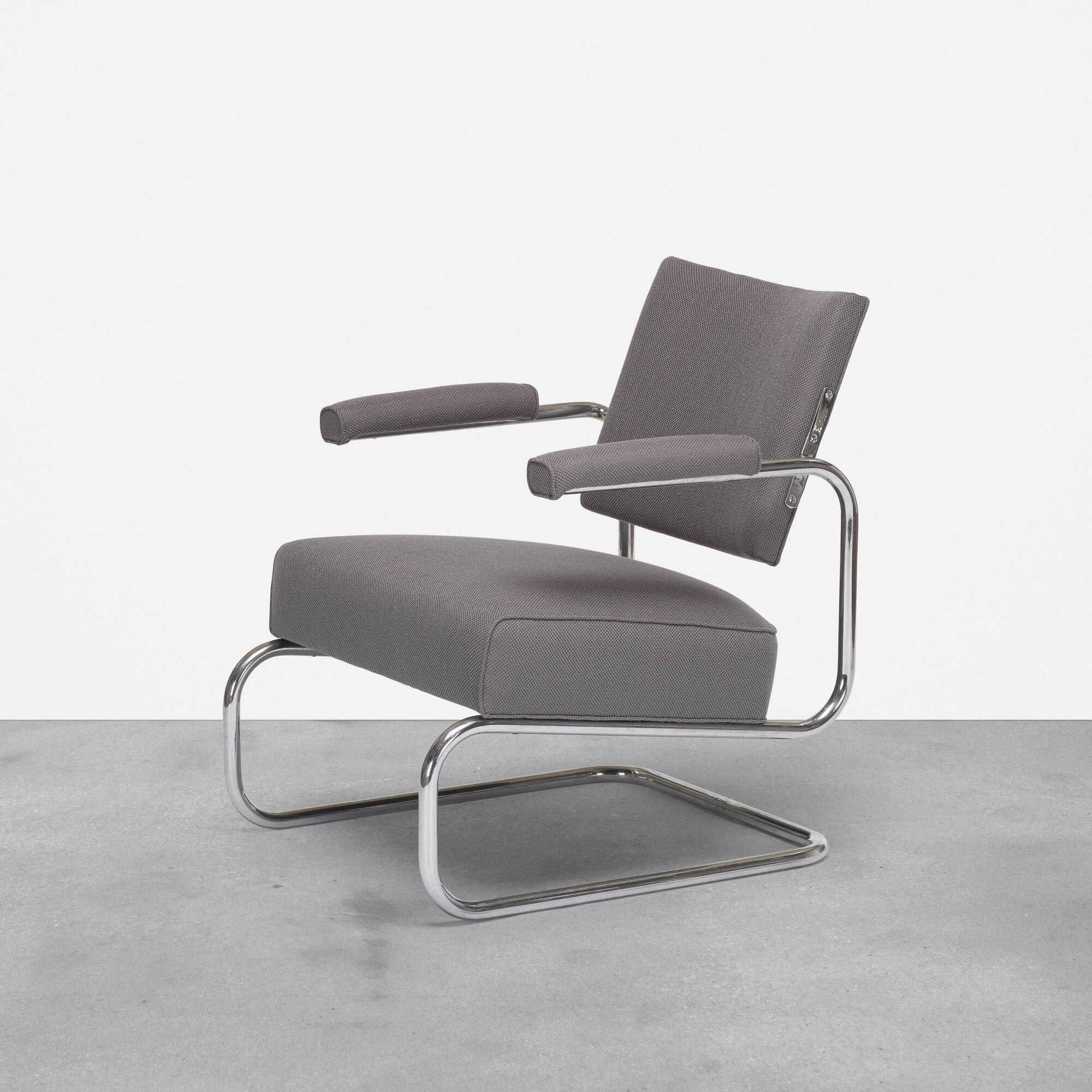 266: Gilbert Rohde / rare armchair (1 of 3)