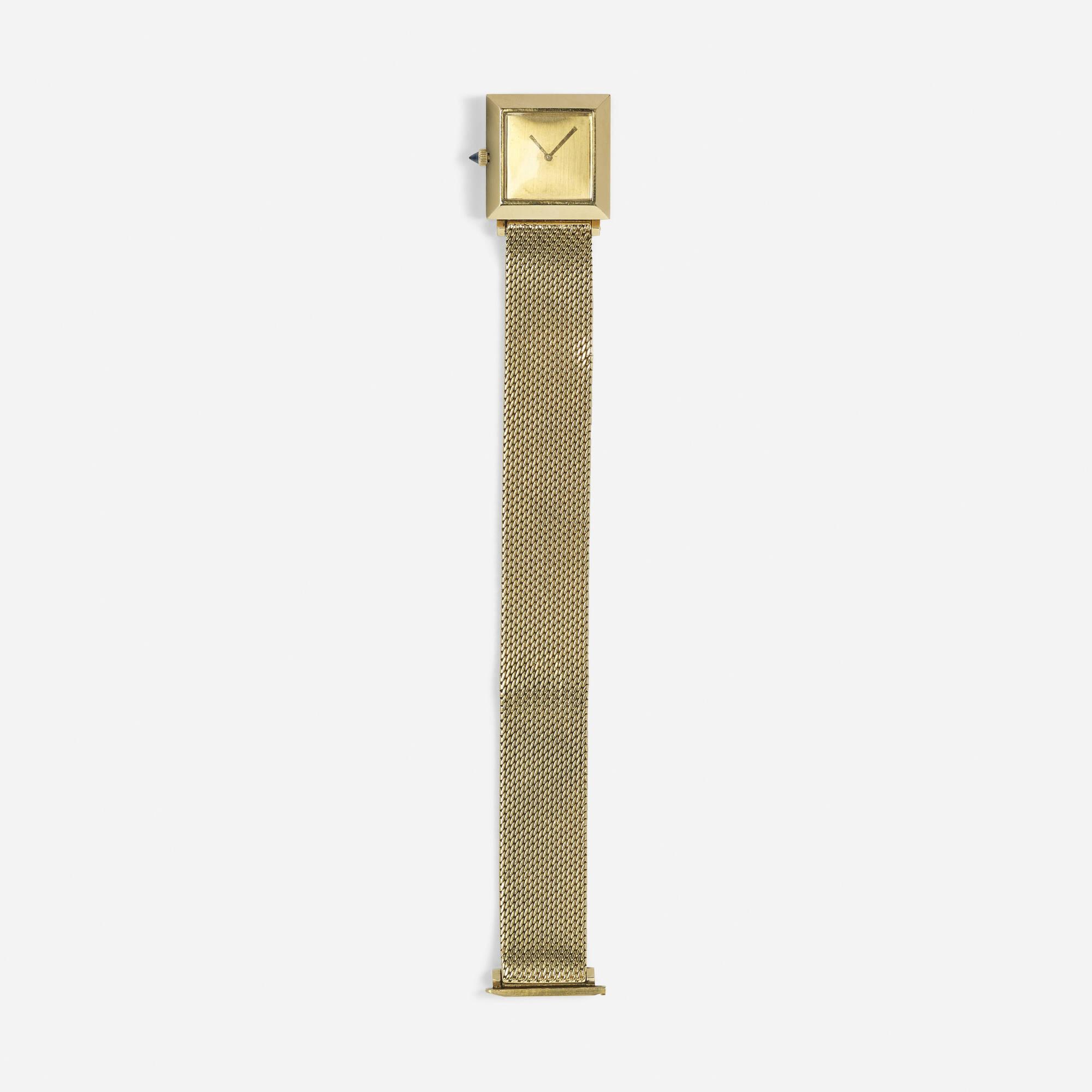266: Boucheron / A gold ladies wristwatch (1 of 1)