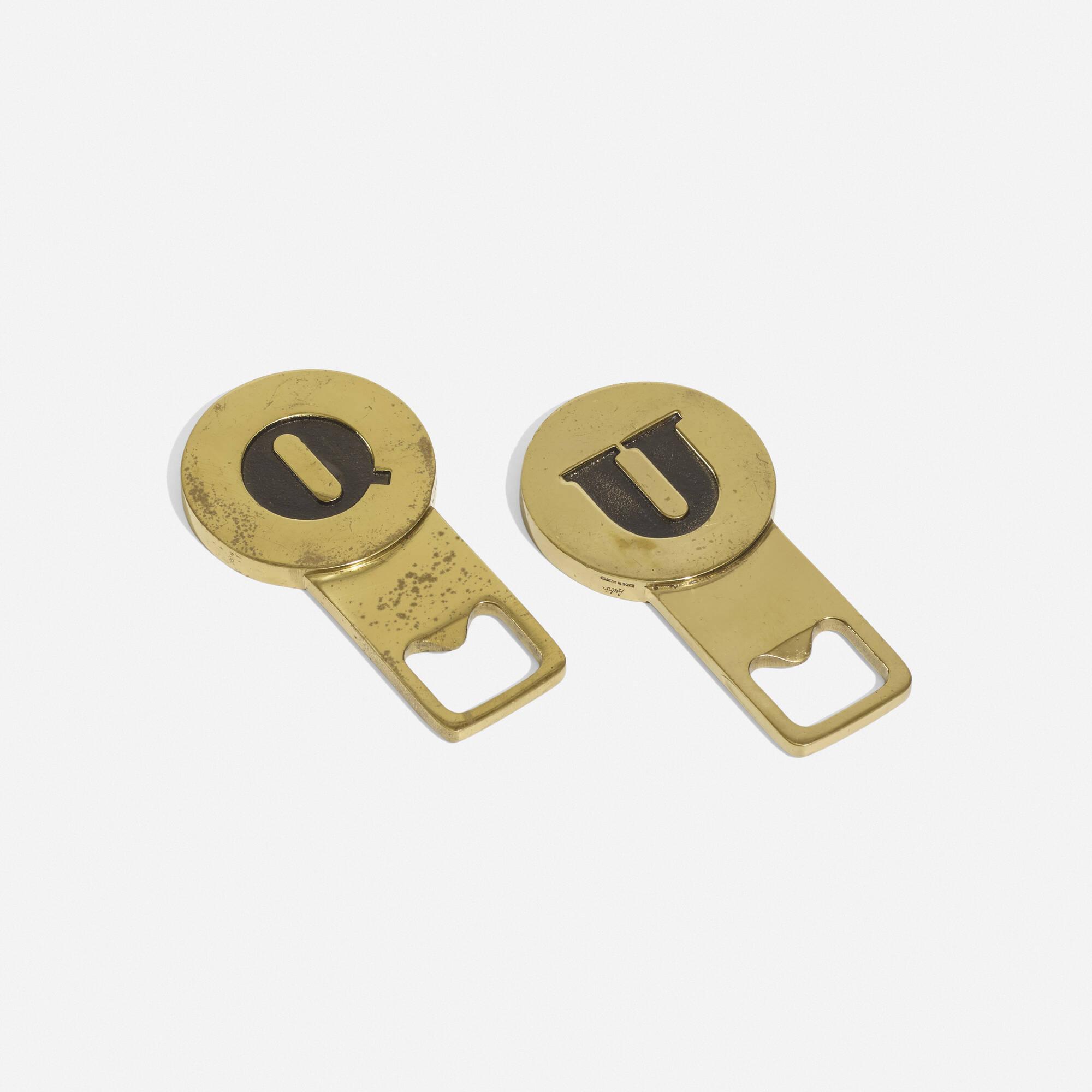 266: Carl Auböck III / bottle openers, pair (1 of 3)