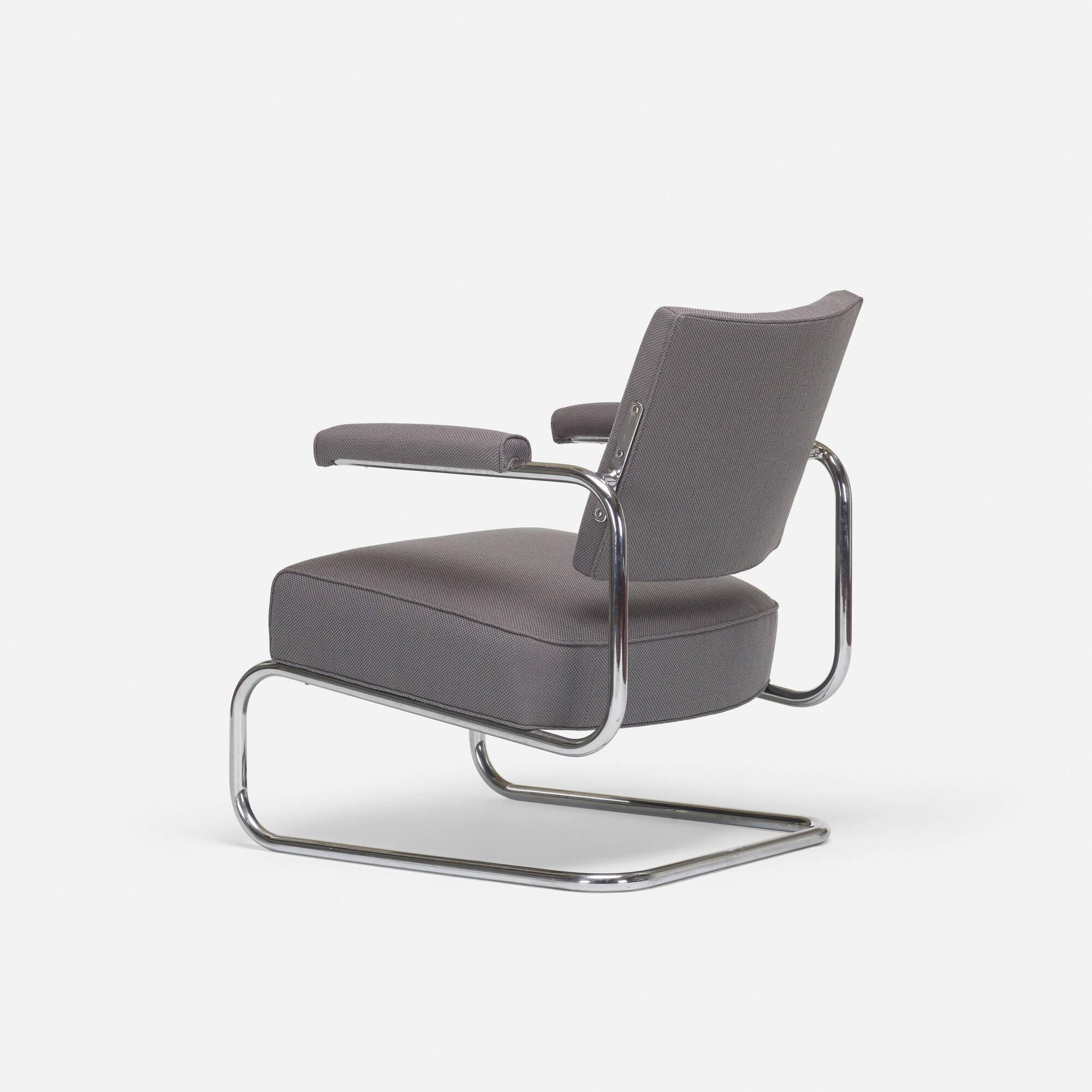 266: Gilbert Rohde / rare armchair (2 of 3)