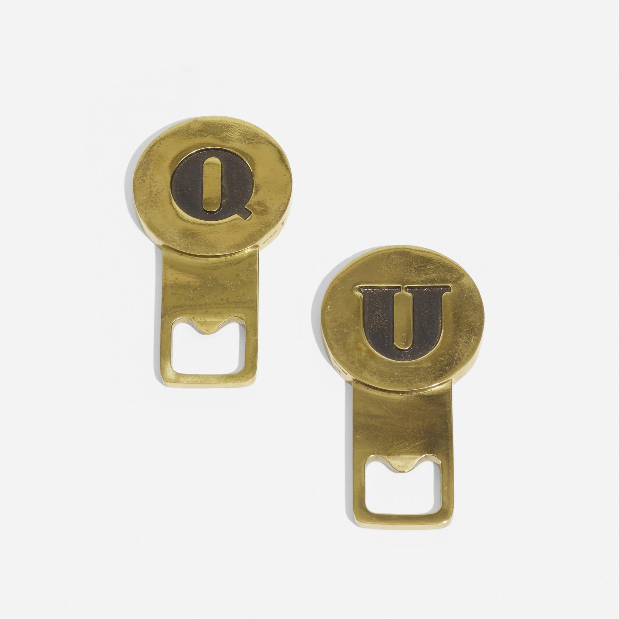 266: Carl Auböck III / bottle openers, pair (2 of 3)