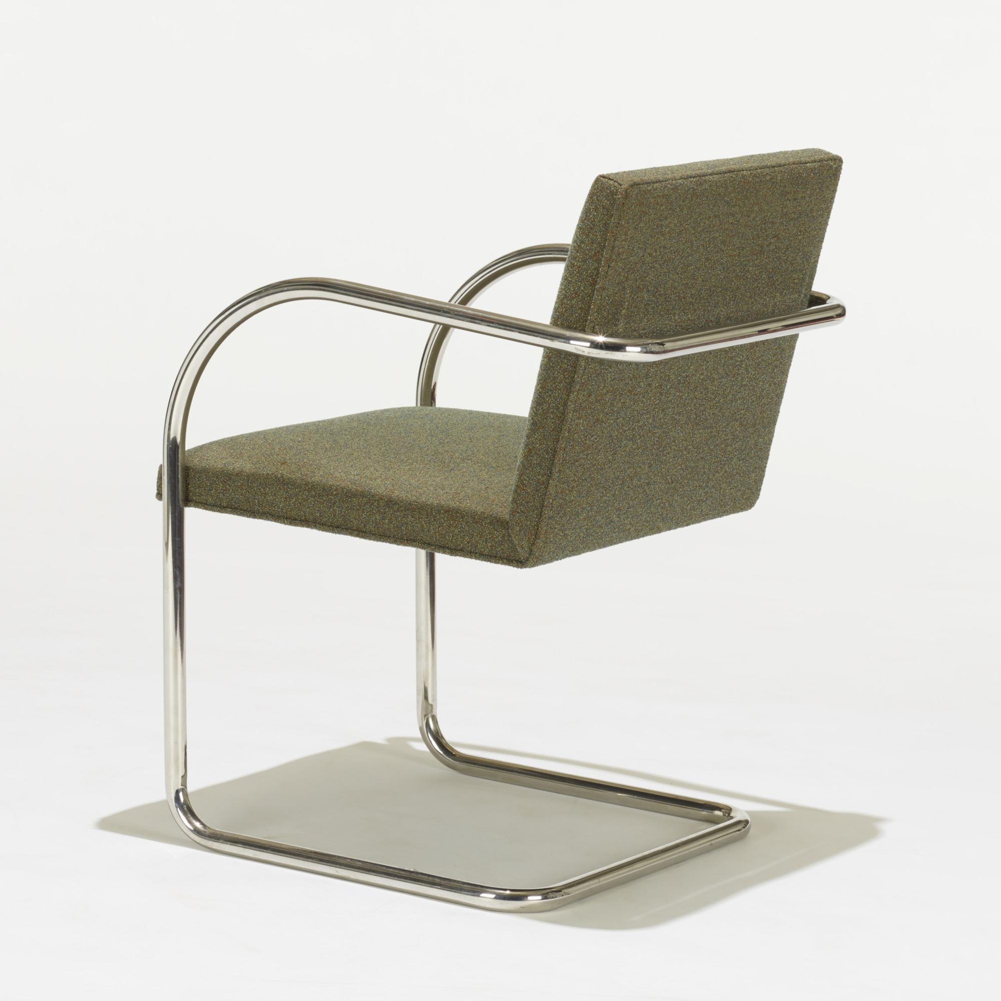 266 Ludwig Mies Van Der Rohe Brno Chairs Pair American Design