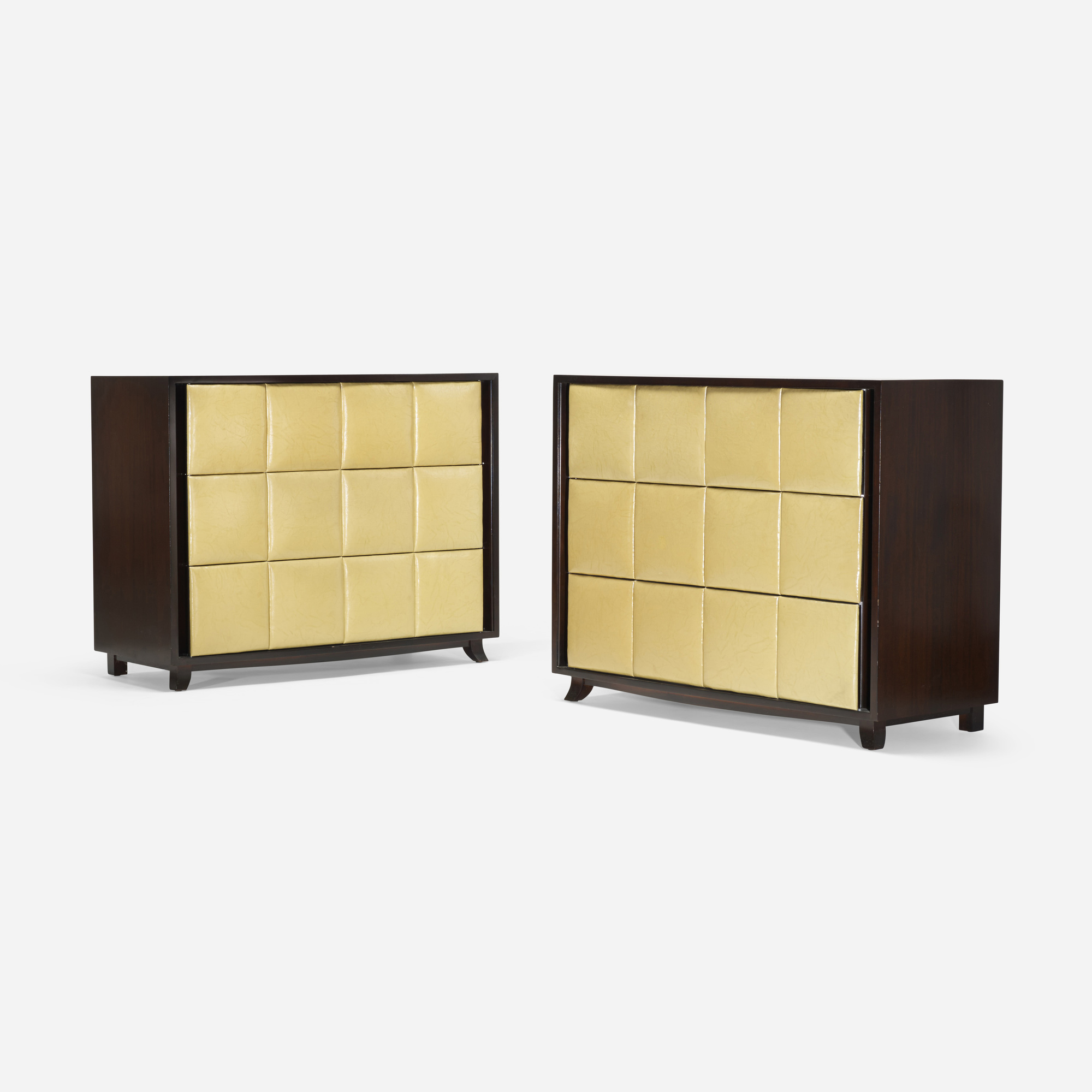267: Gilbert Rohde / cabinets model 4140, pair (1 of 3)
