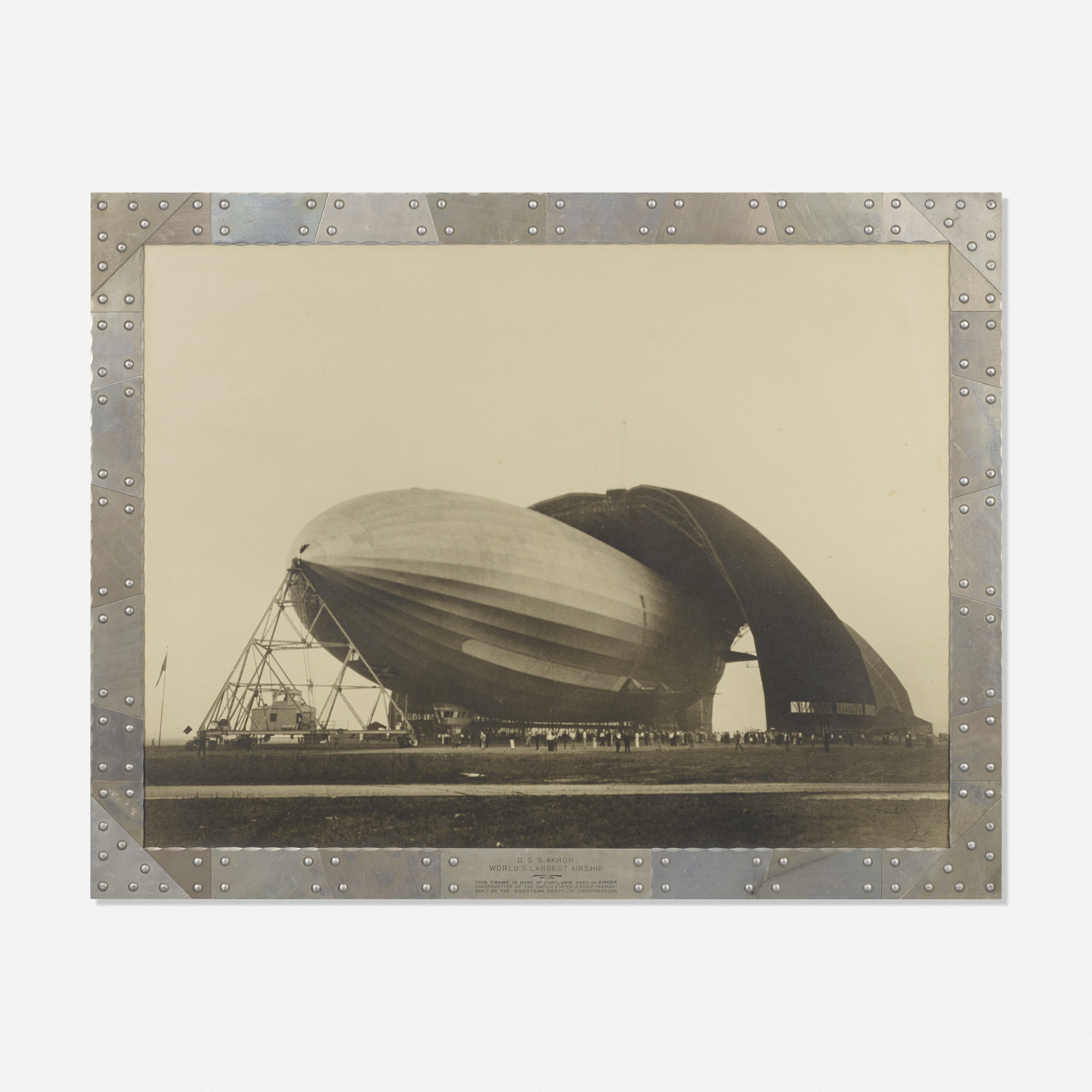 268: Margaret Bourke-White / Goodyear Zeppelin (1 of 1)
