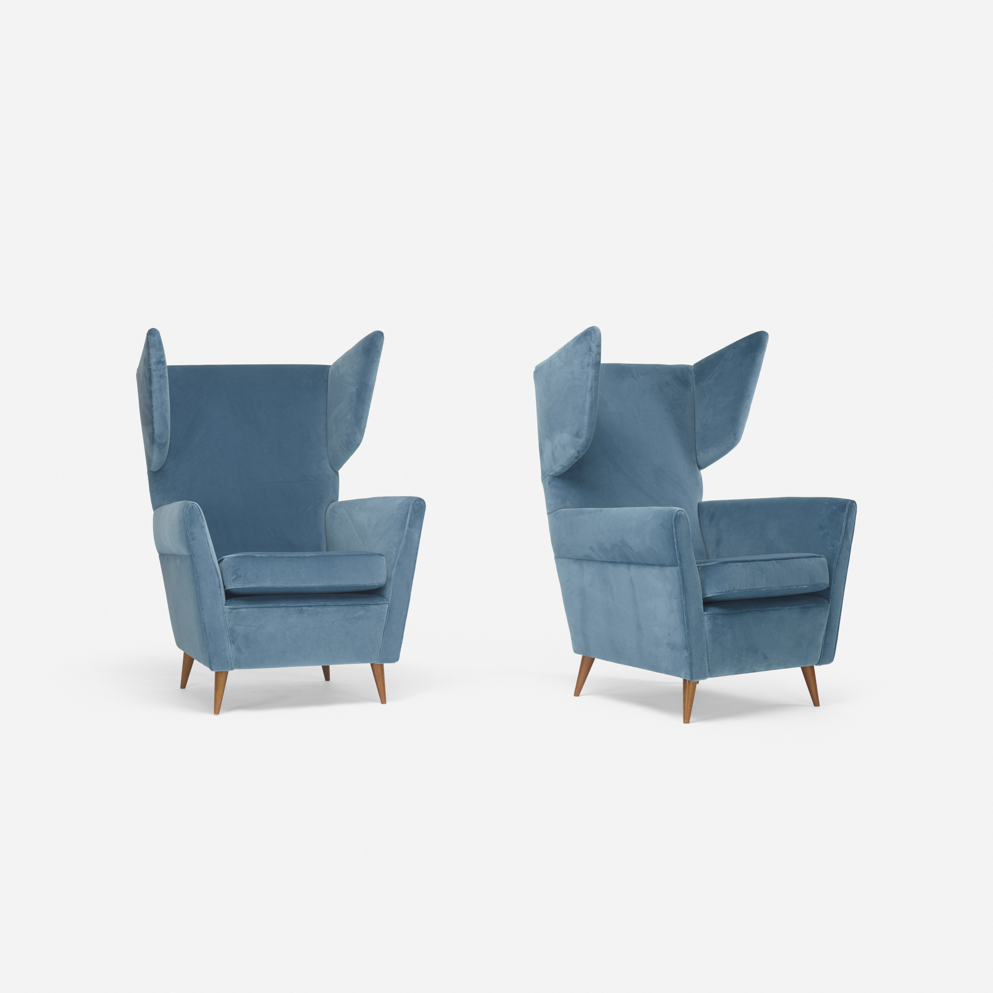 268: Gio Ponti / lounge chairs, pair (2 of 3)