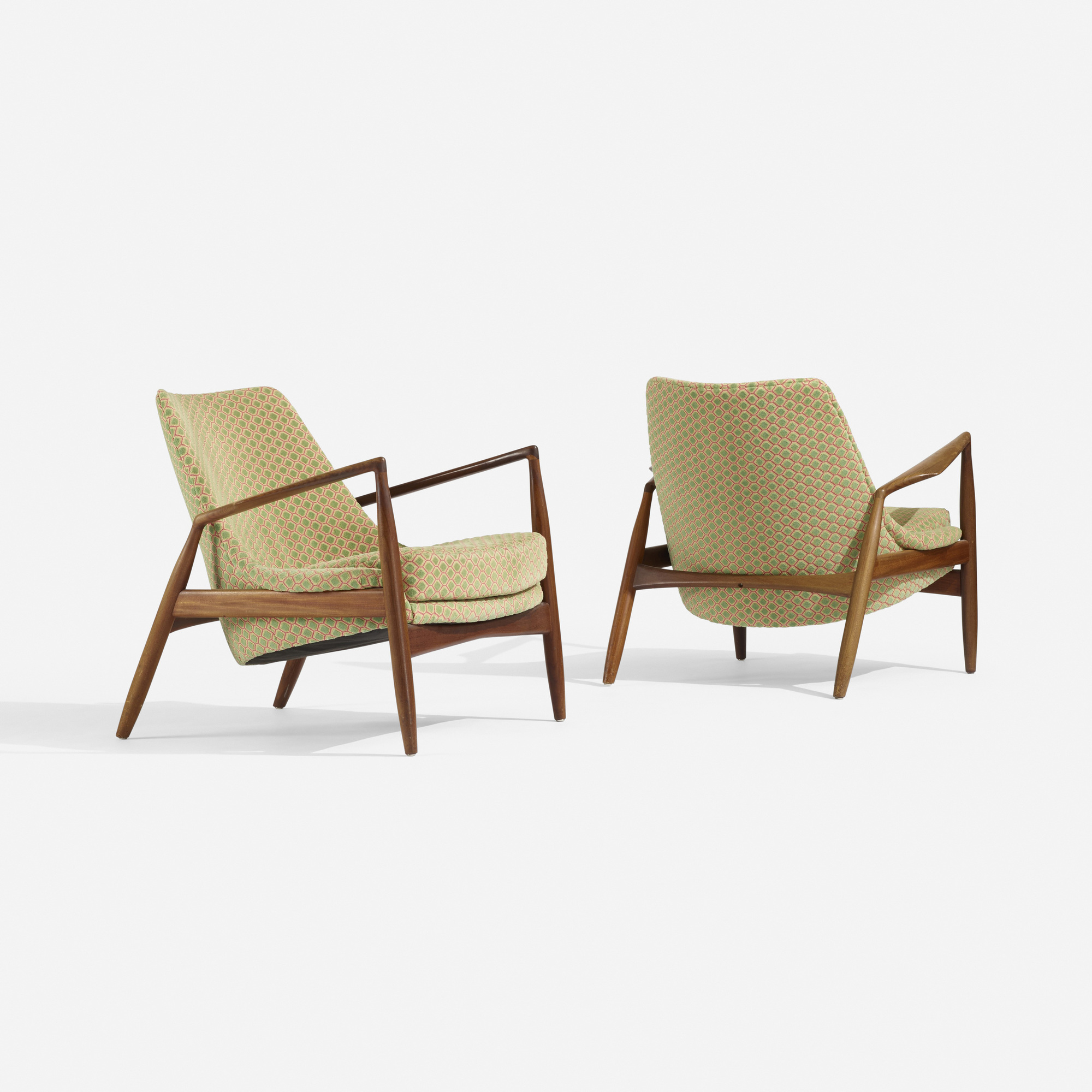 268: Ib Kofod-Larsen / lounge chairs, pair (2 of 4)