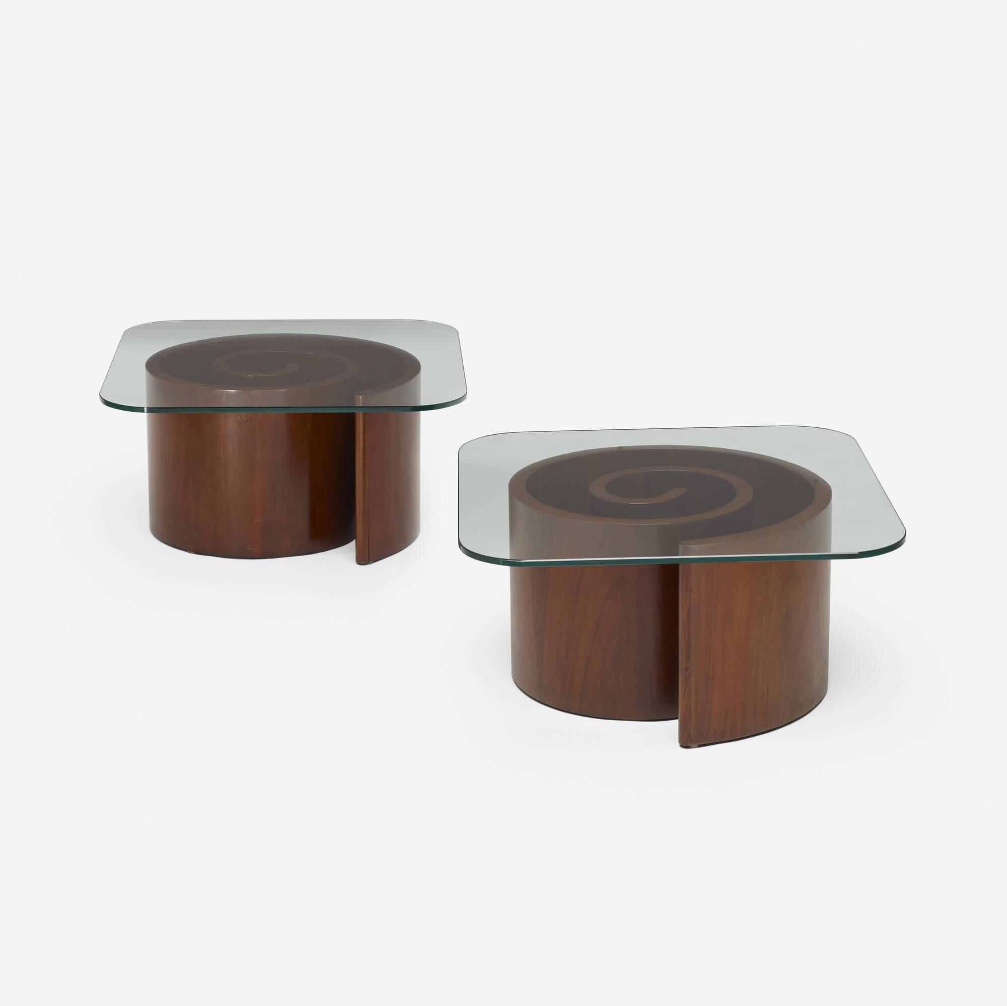 269: Vladimir Kagan / Coffee Tables, Pair (1 Of 2)