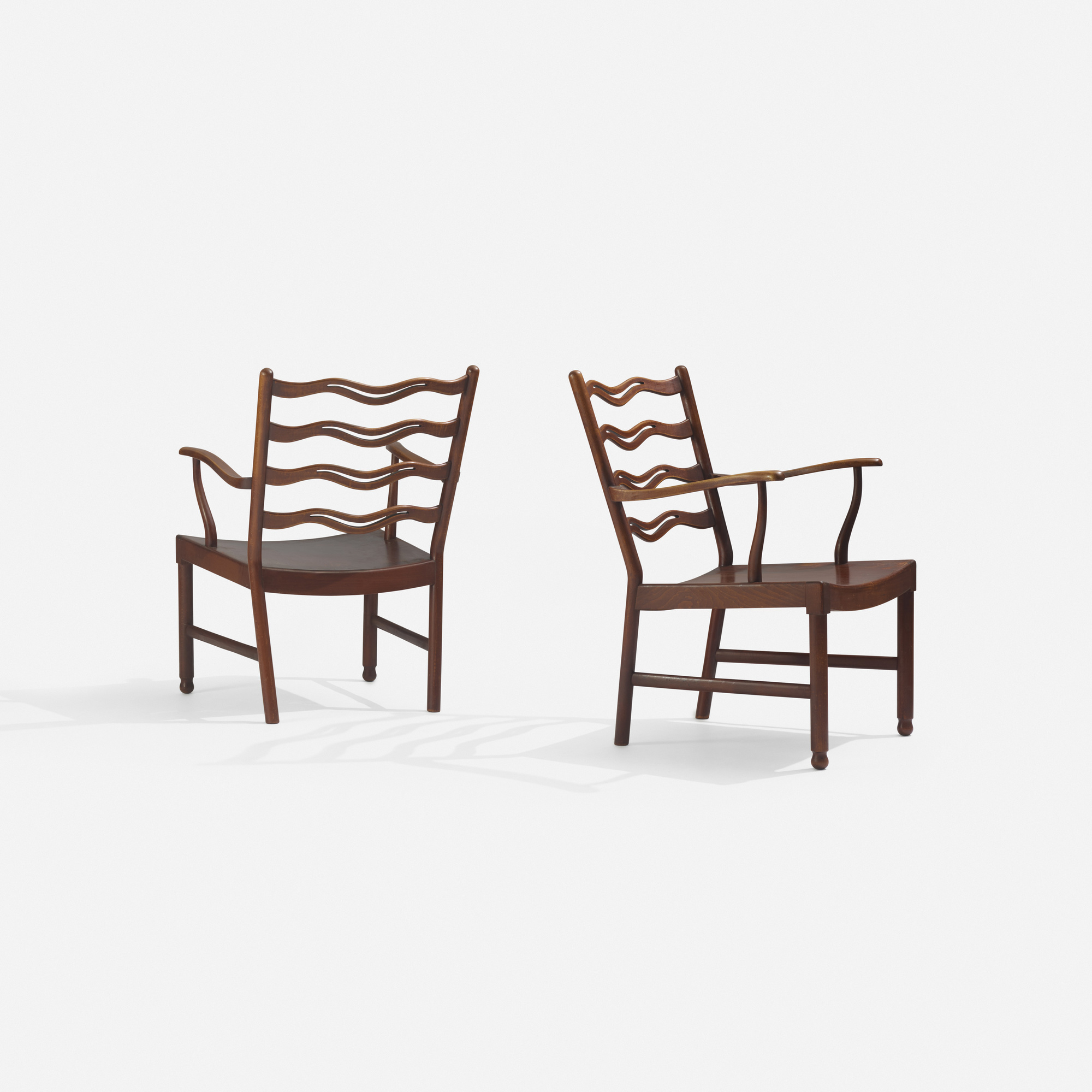 269: Ole Wanscher / lounge chairs, pair (1 of 2)