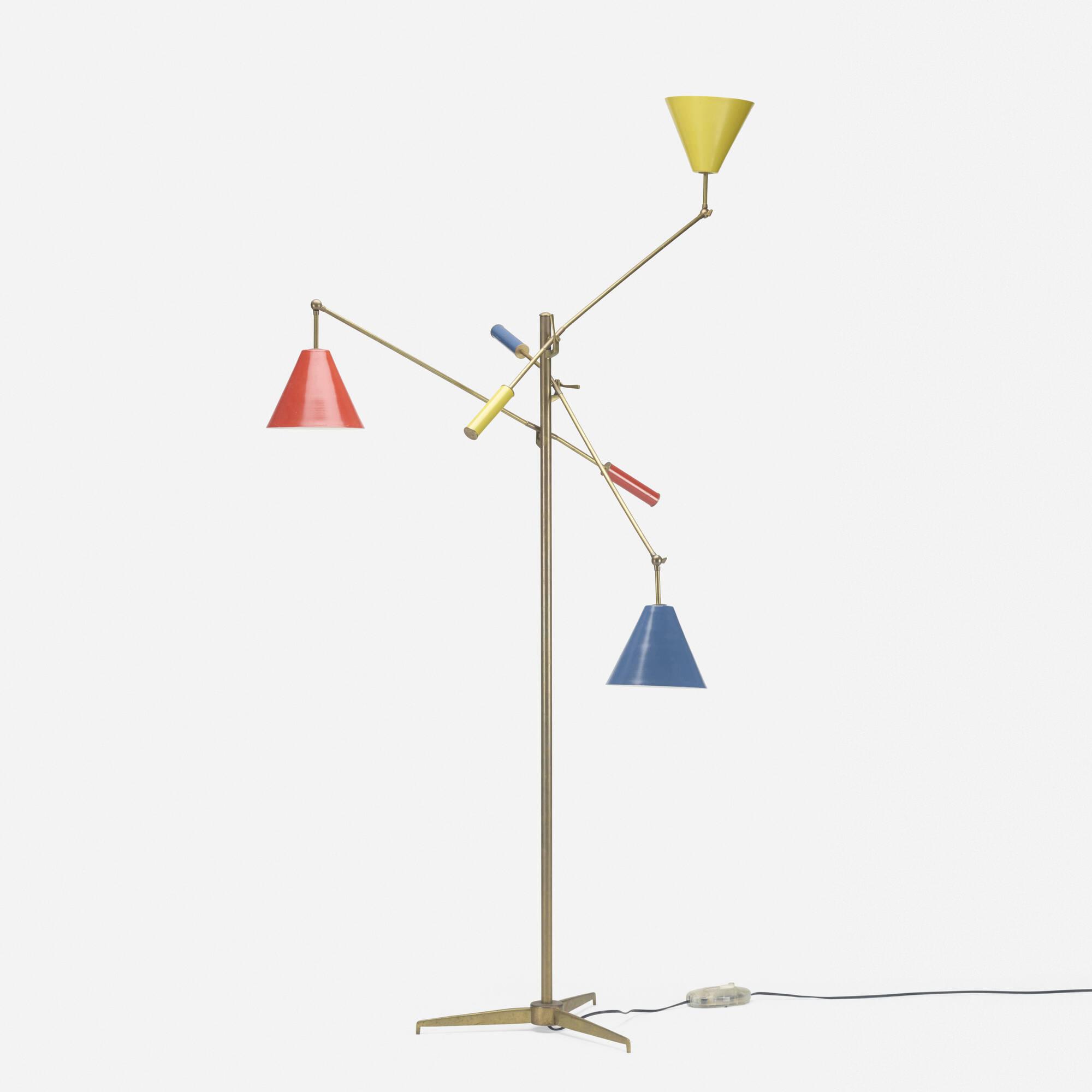 269: Angelo Lelii / three-arm floor lamp (2 of 2)