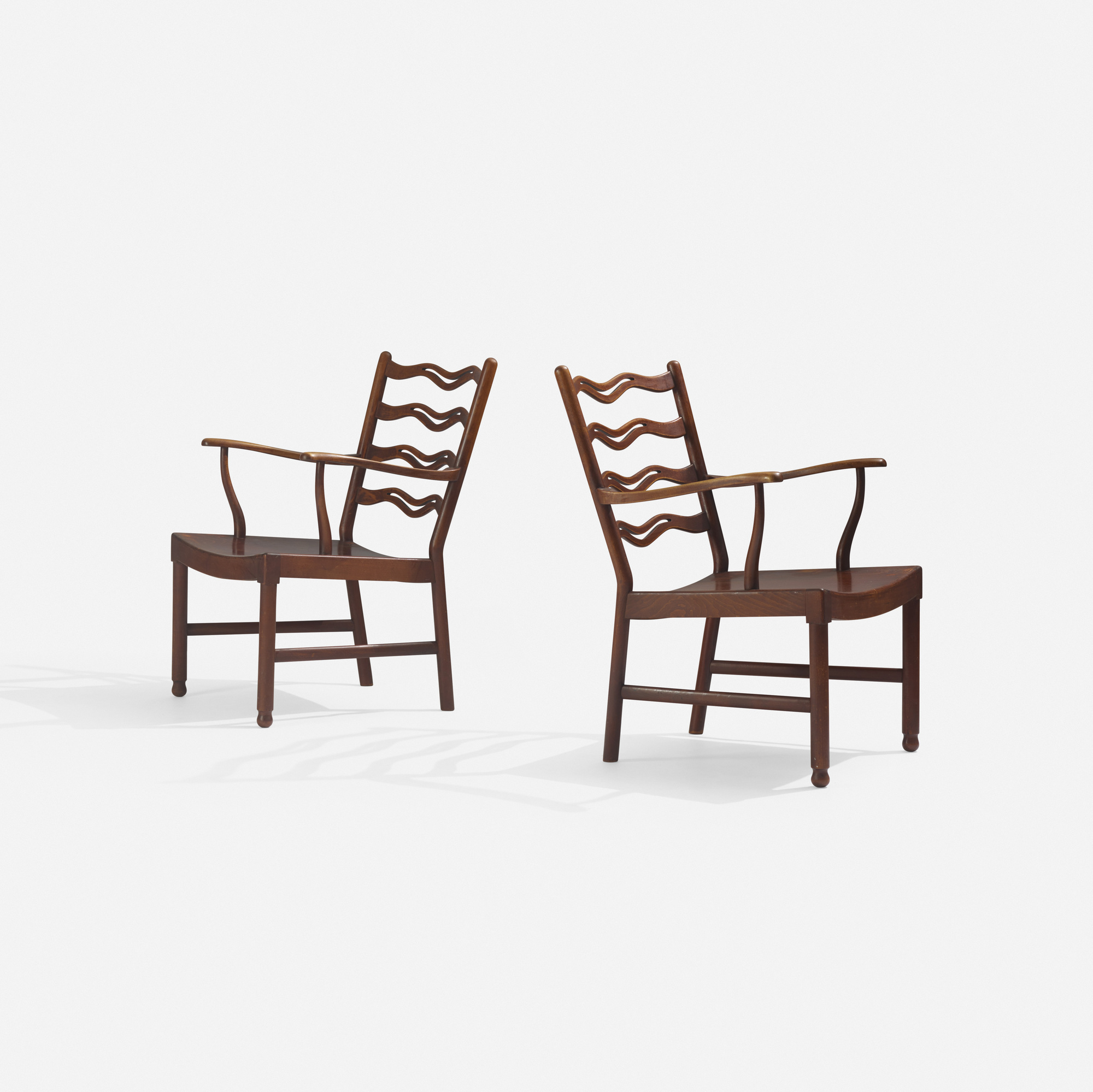 269: Ole Wanscher / lounge chairs, pair (2 of 2)