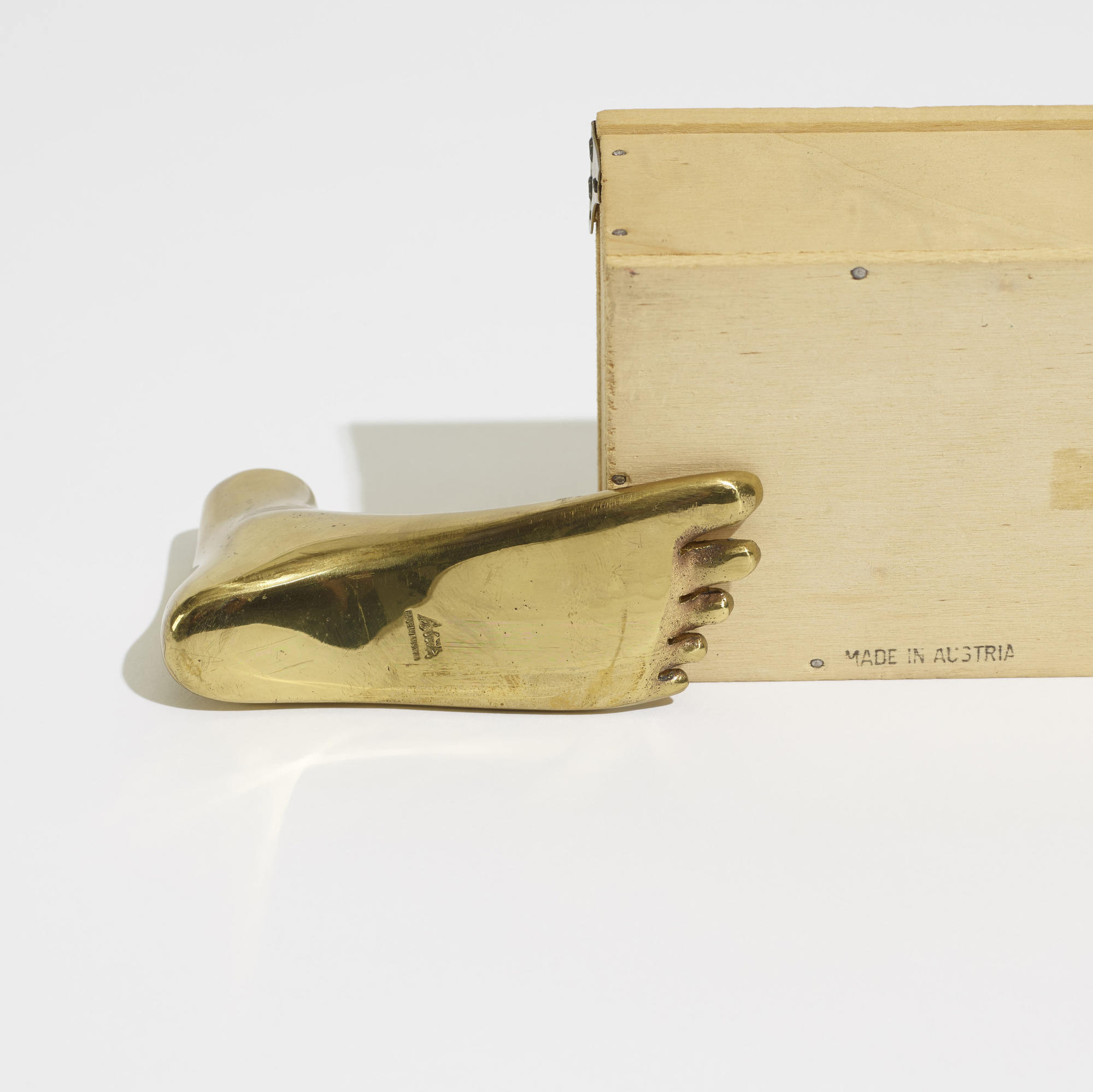 269: Carl Auböck II / paperweight, model 4273.1 (4 of 4)