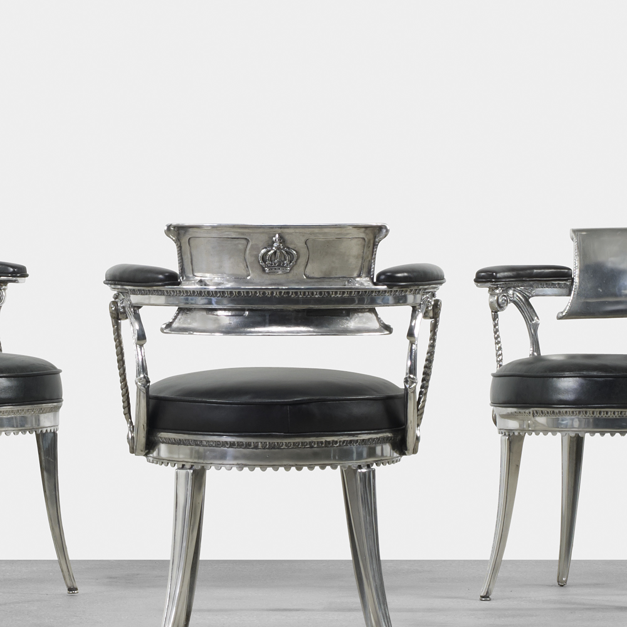 ... 269: Dorothy Draper / Set Of Twelve Dining Chairs From The Fairmont  Hotel, San