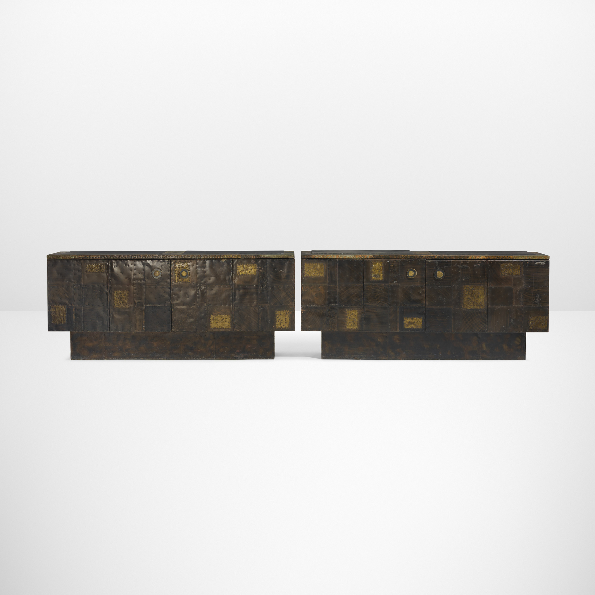 26: Paul Evans / Special Order Cabinets, Pair (1 Of 3)