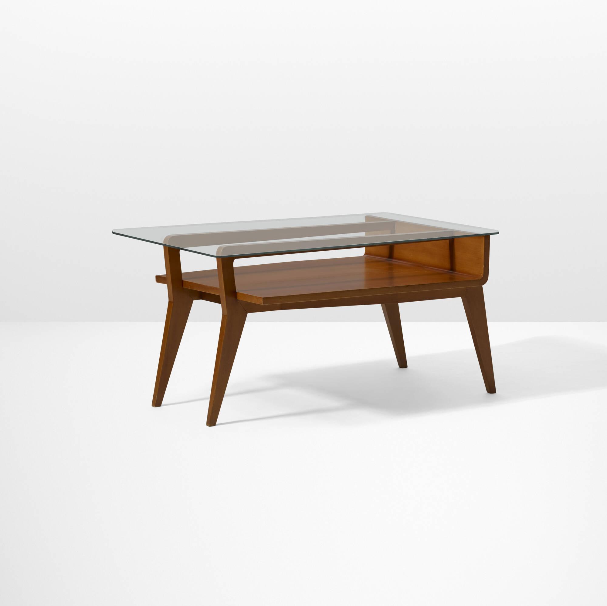 26 Gino Levi Montalcini Coffee Table from Villa Lanfranco Gromo