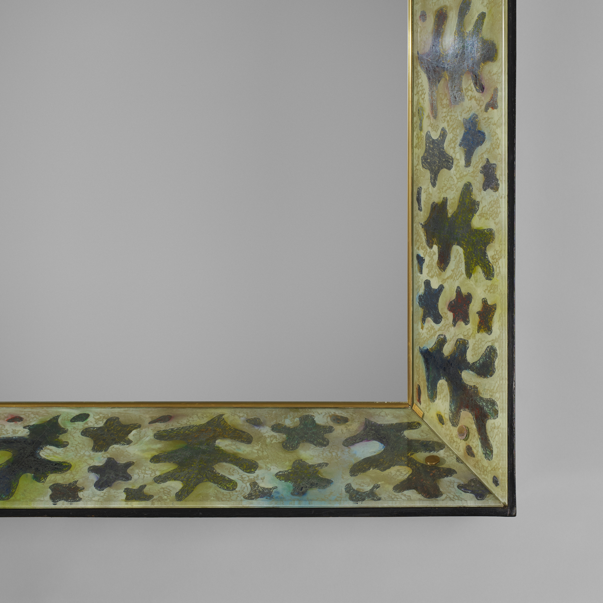 26: Gio Ponti and Erwin Walter Burger / Rare mirror with console (3 of 4)