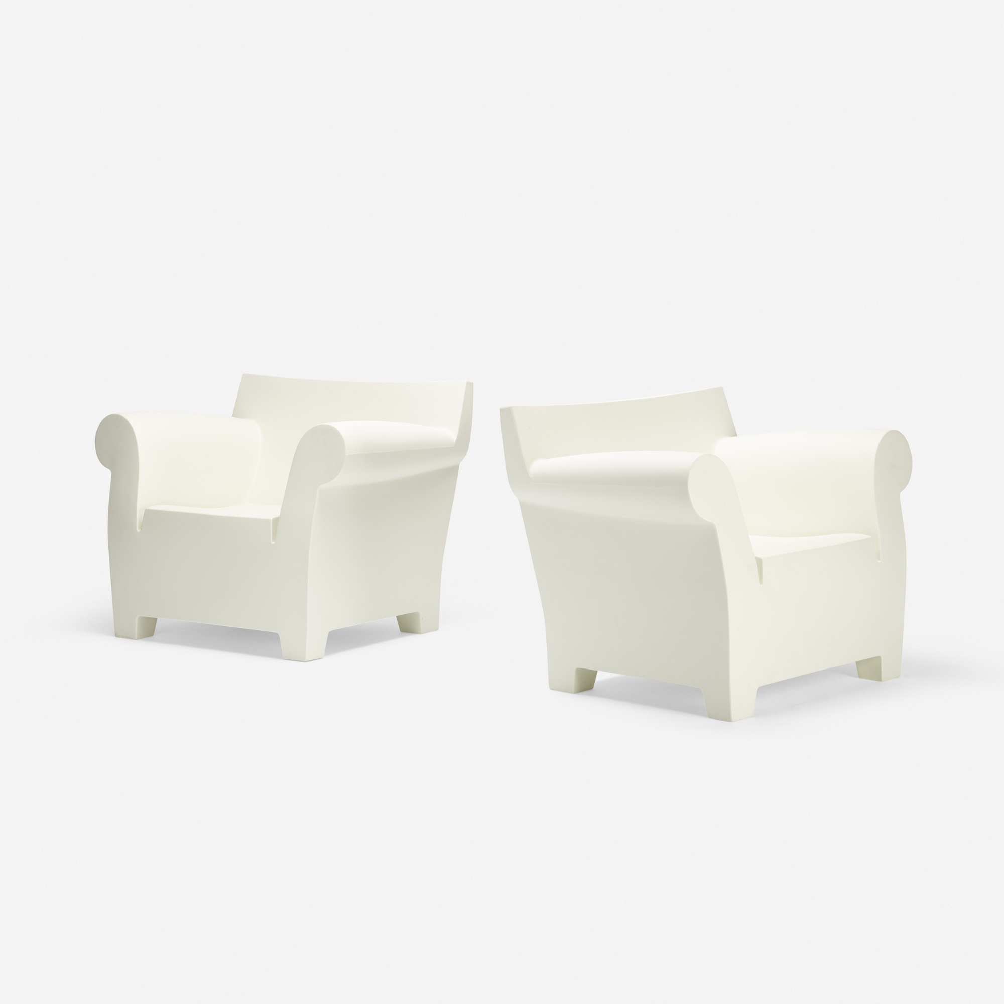 Captivating 270: Philippe Starck / Bubble Club Armchairs, Pair (1 Of 3)