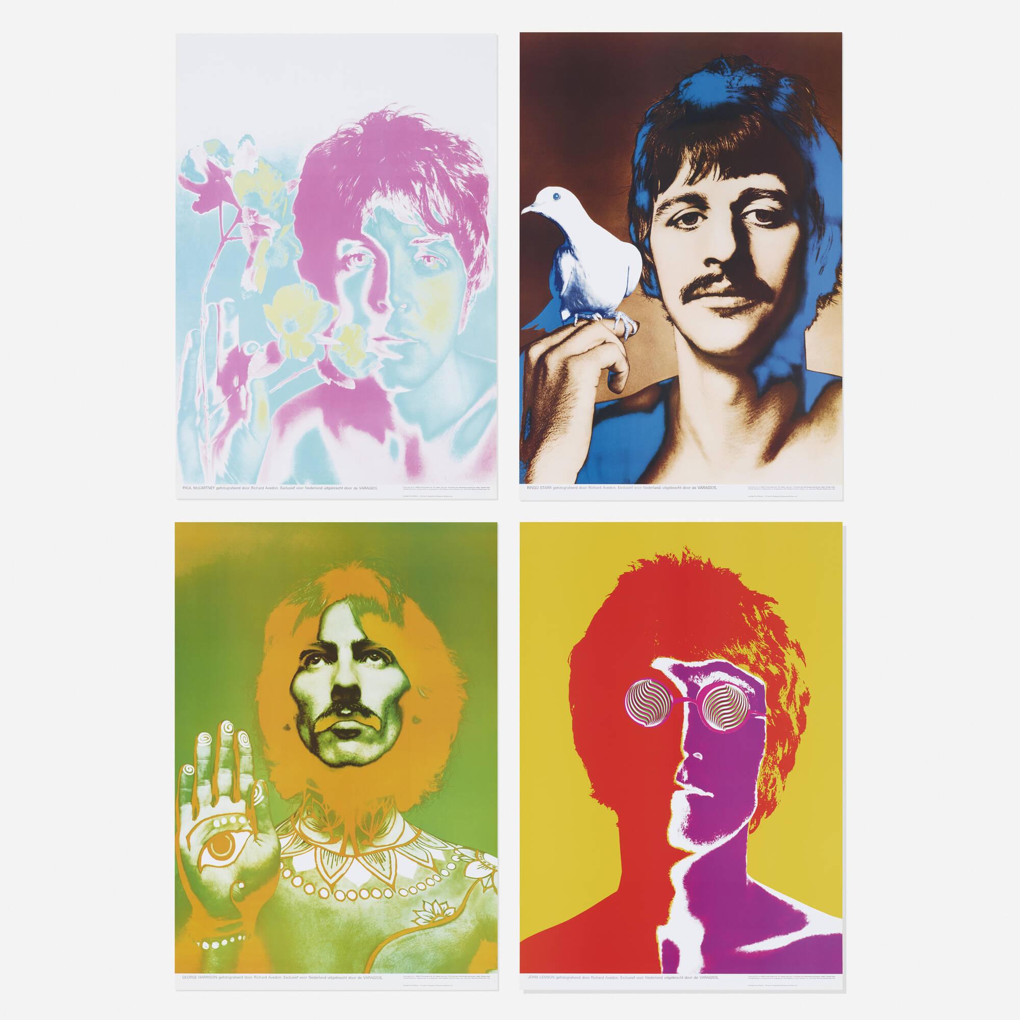 271: Richard Avedon / The Beatles (portfolio of four works) (1 of 1)