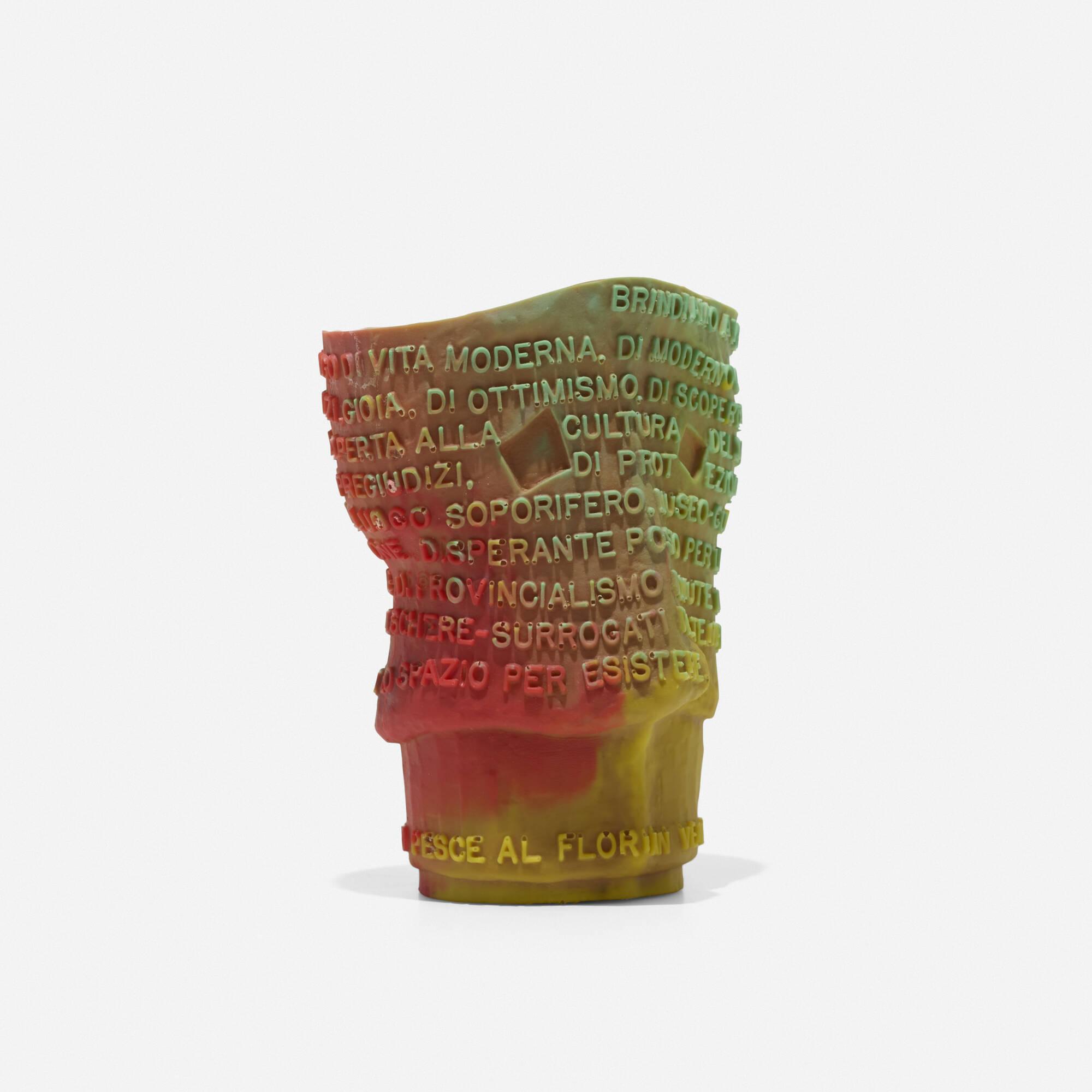 271: Gaetano Pesce / Goto vase (1 of 3)