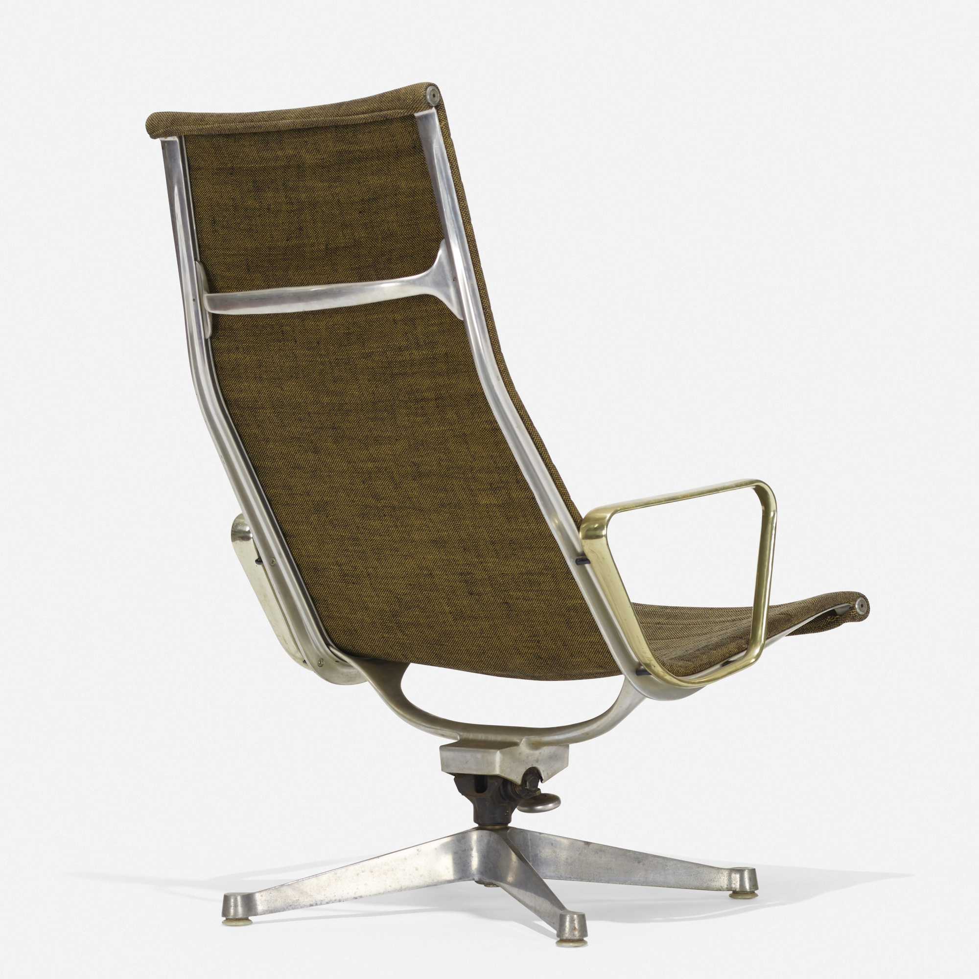 271 Charles And Ray Eames Aluminum Group Lounge Chair American