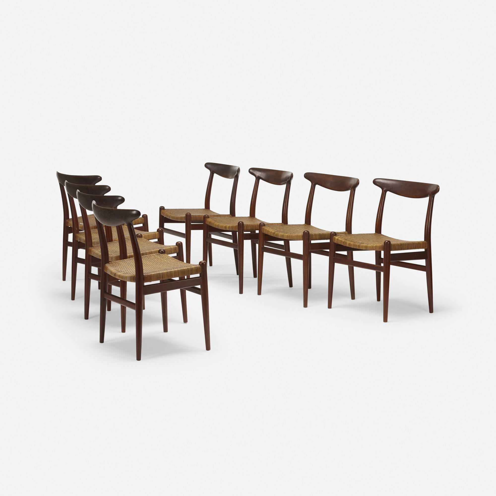 272: Hans J. Wegner / dining chairs, set of eight (1 of 5)