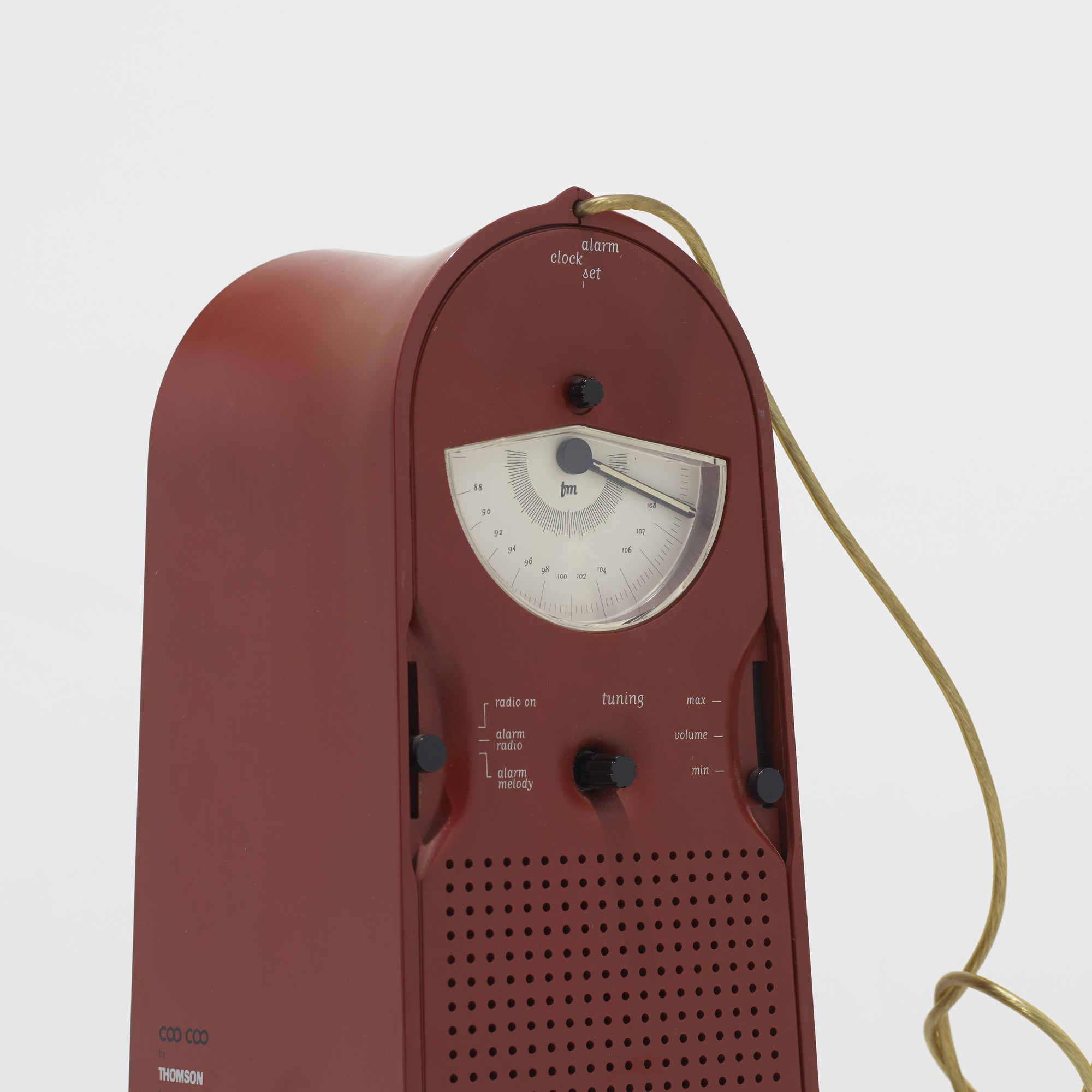 272: Philippe Starck / Coo Coo radio alarm clock (3 of 3)