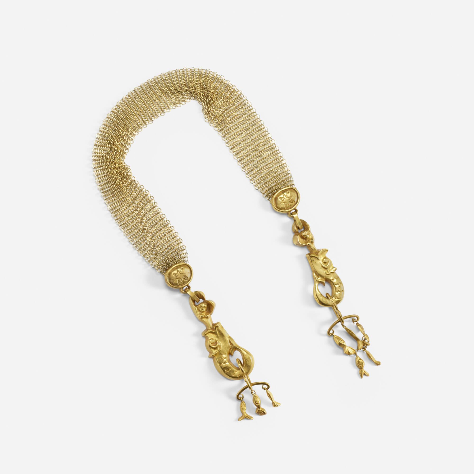 273: Line Vautrin / La Peche Mirauleuse necklace (1 of 3)