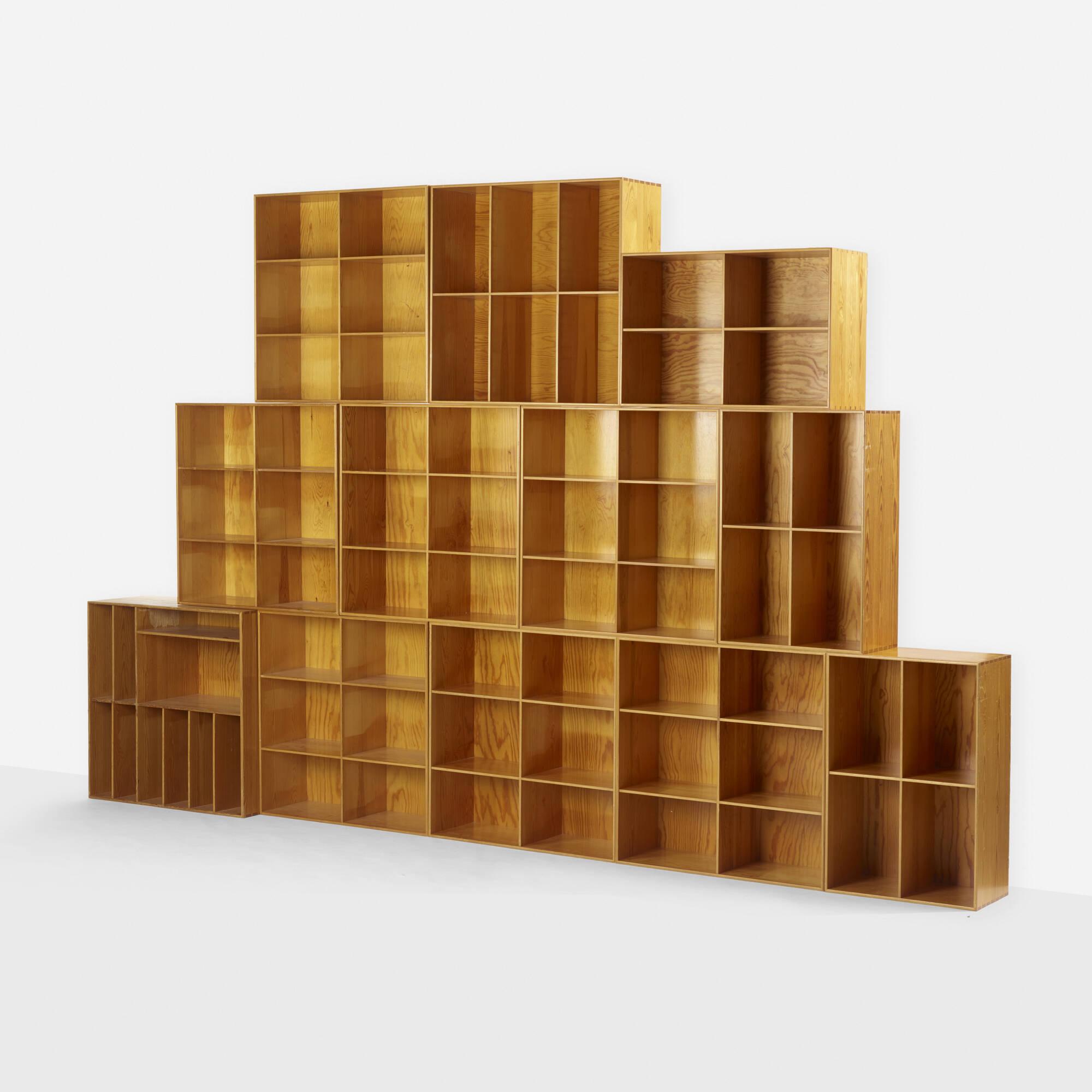 273: Mogens Koch / bookcases, set of twelve (1 of 4)