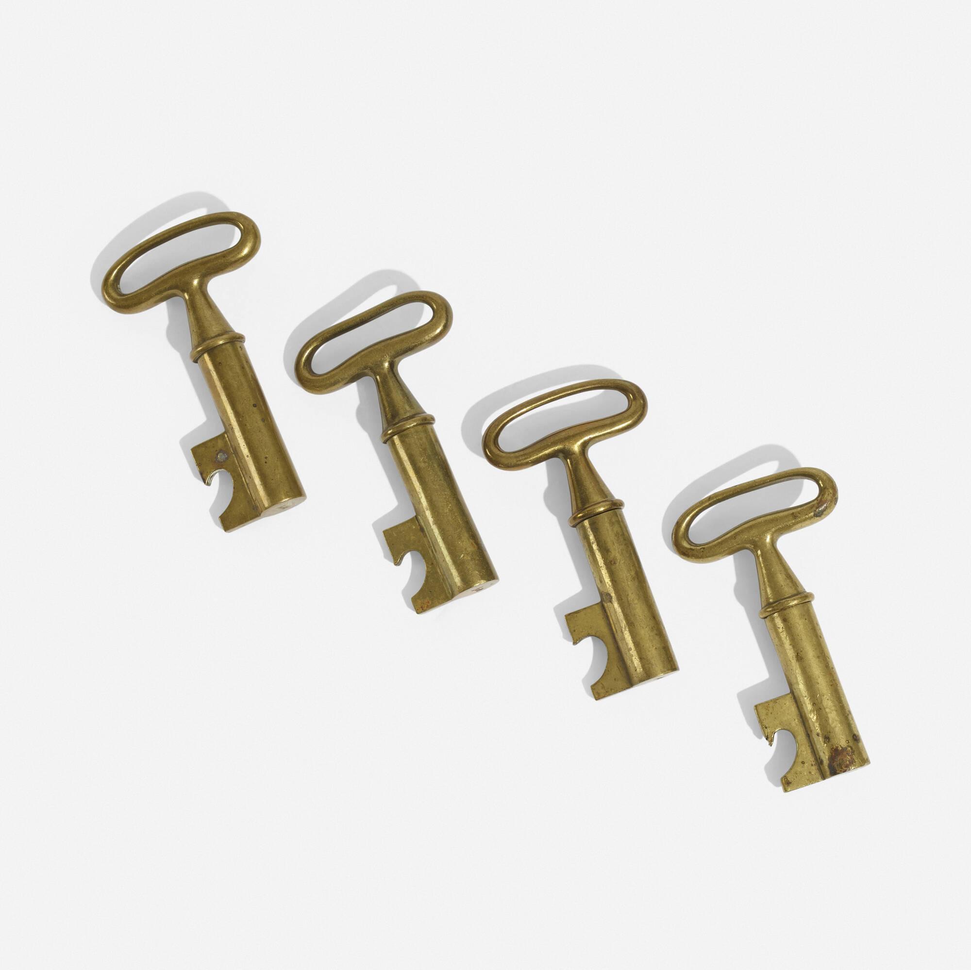 273: Carl Auböck II / corkscrews, set of four (1 of 4)