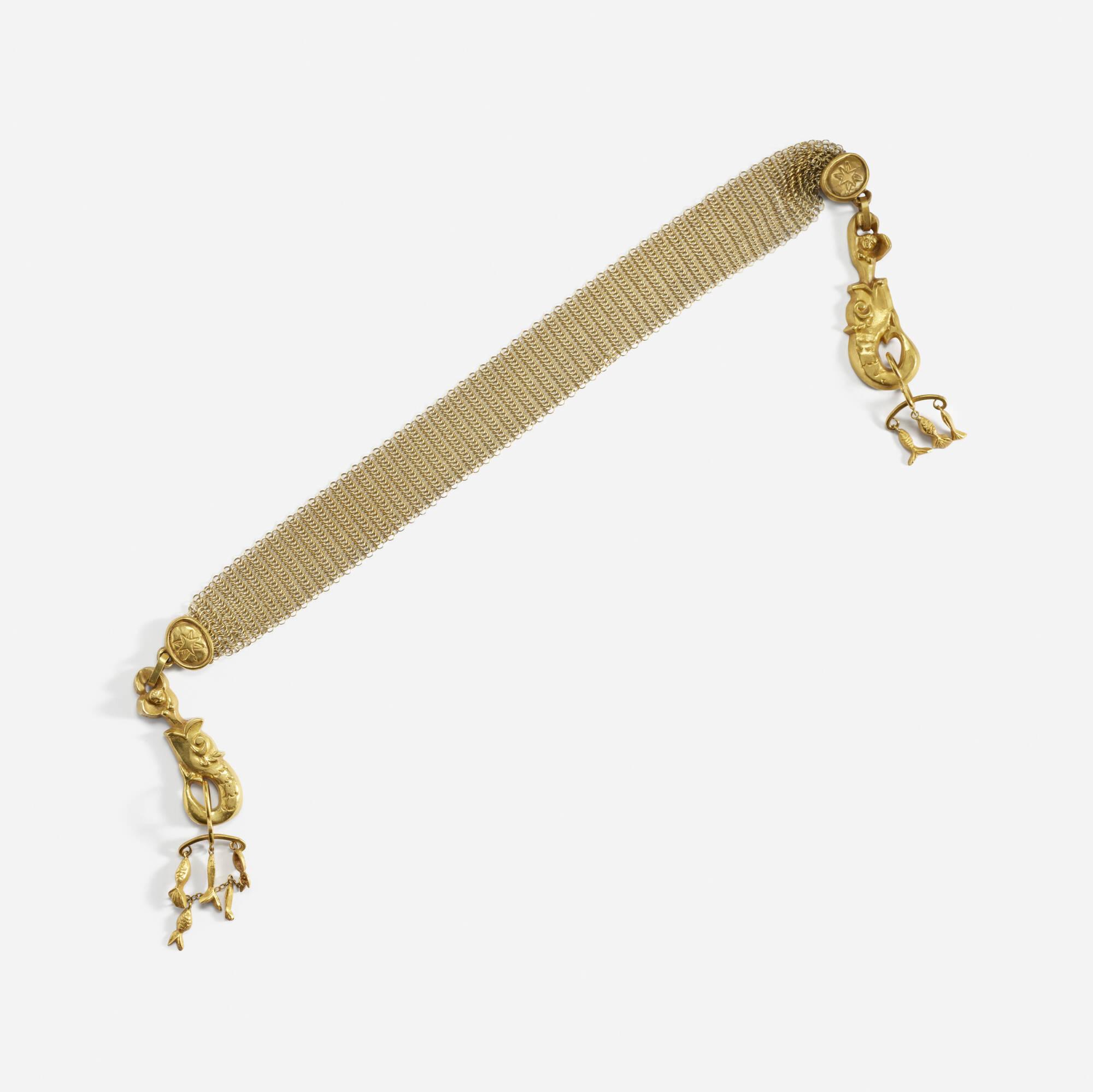 273: Line Vautrin / La Peche Mirauleuse necklace (2 of 3)