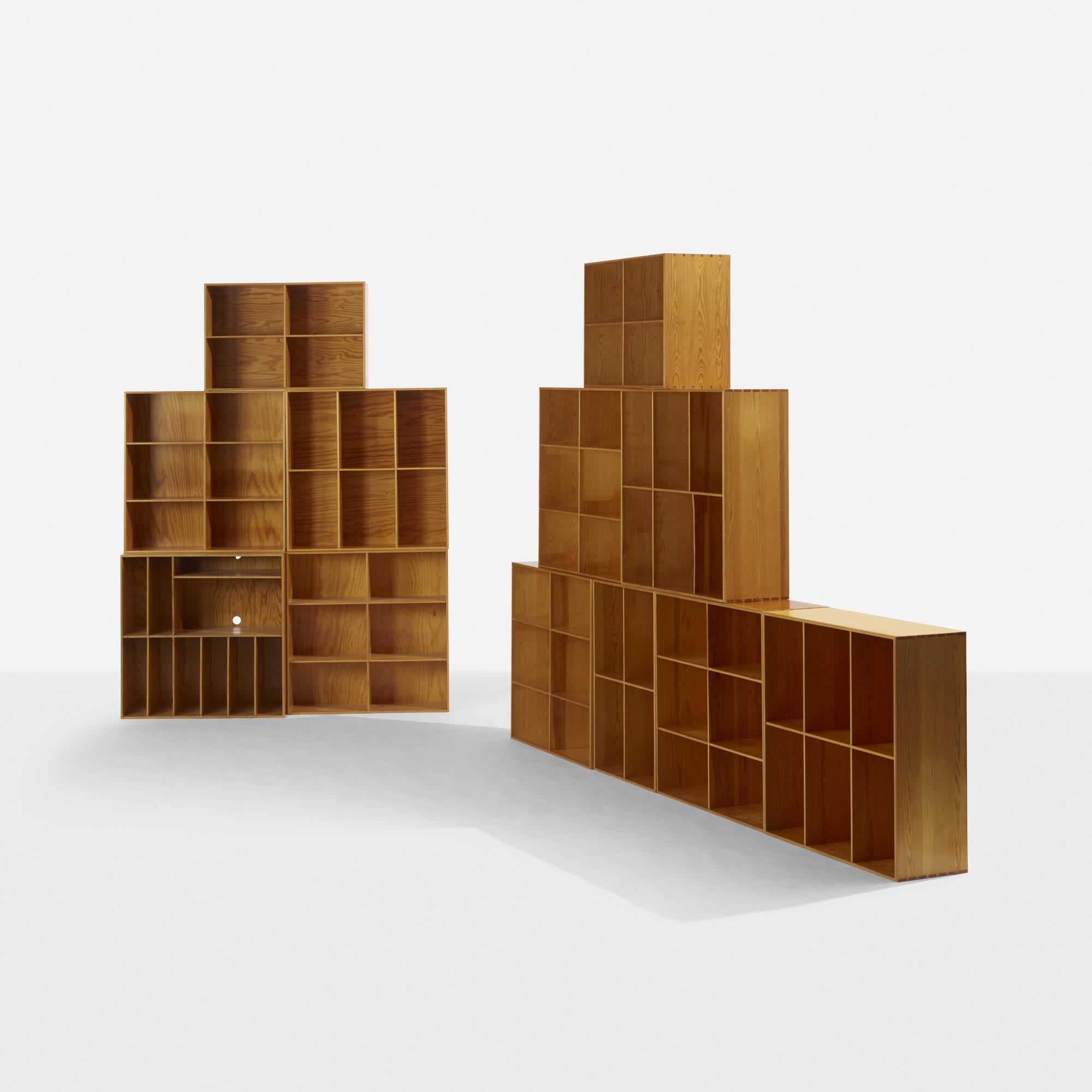 273: Mogens Koch / bookcases, set of twelve (2 of 4)