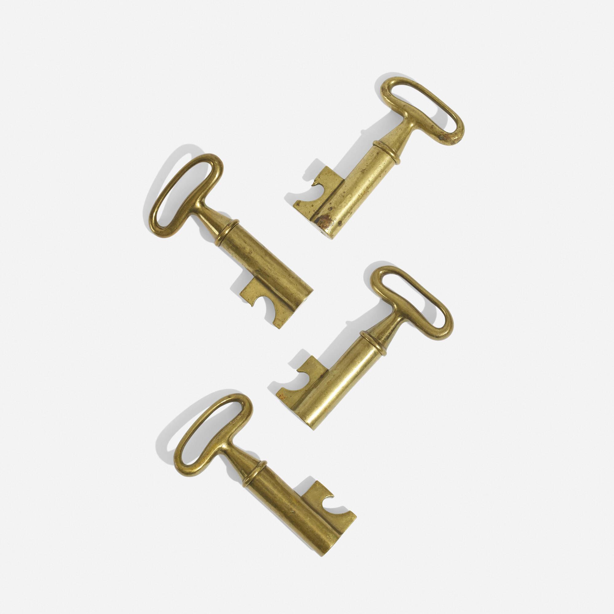 273: Carl Auböck II / corkscrews, set of four (2 of 4)