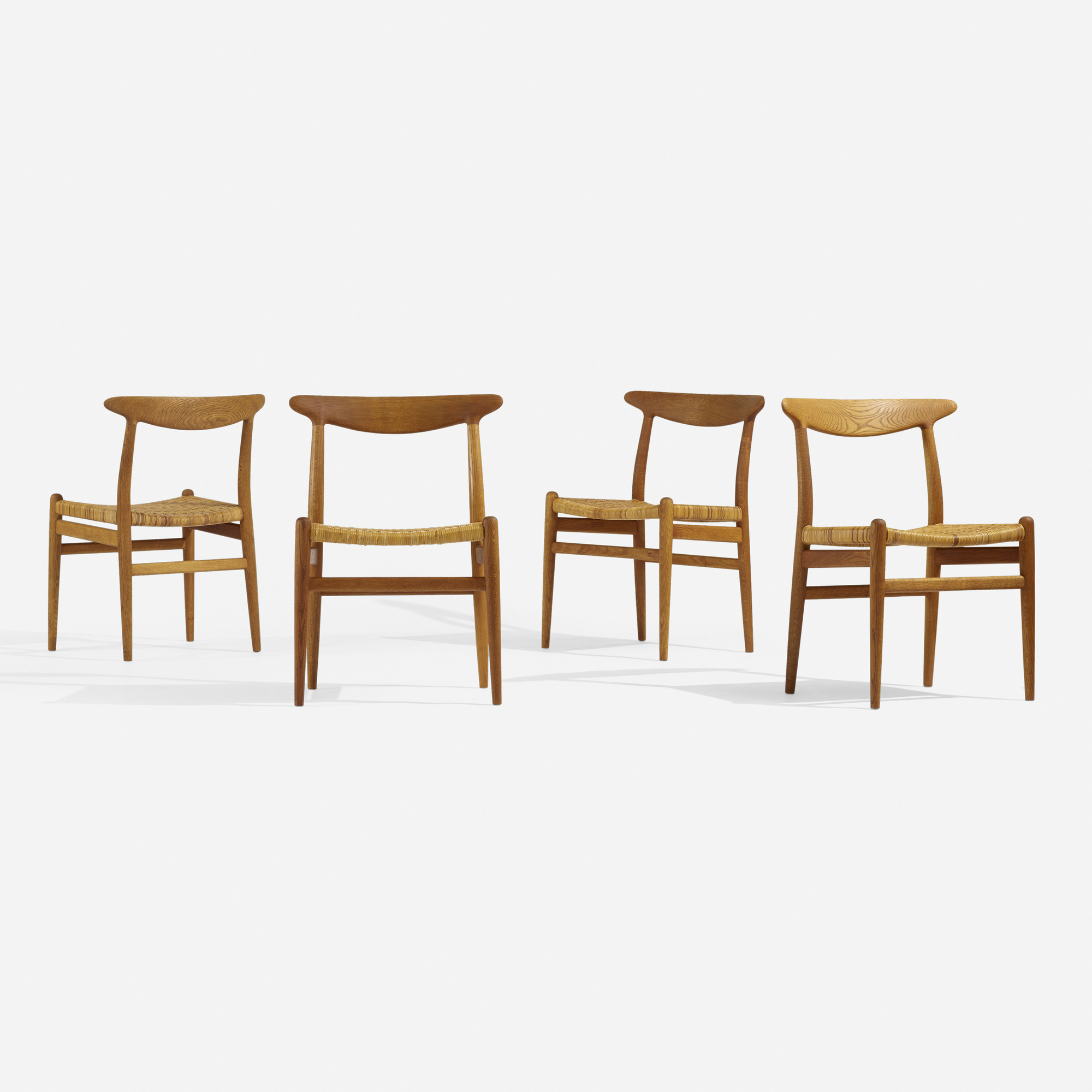 276: Hans J. Wegner / dining chairs, set of four (1 of 4)
