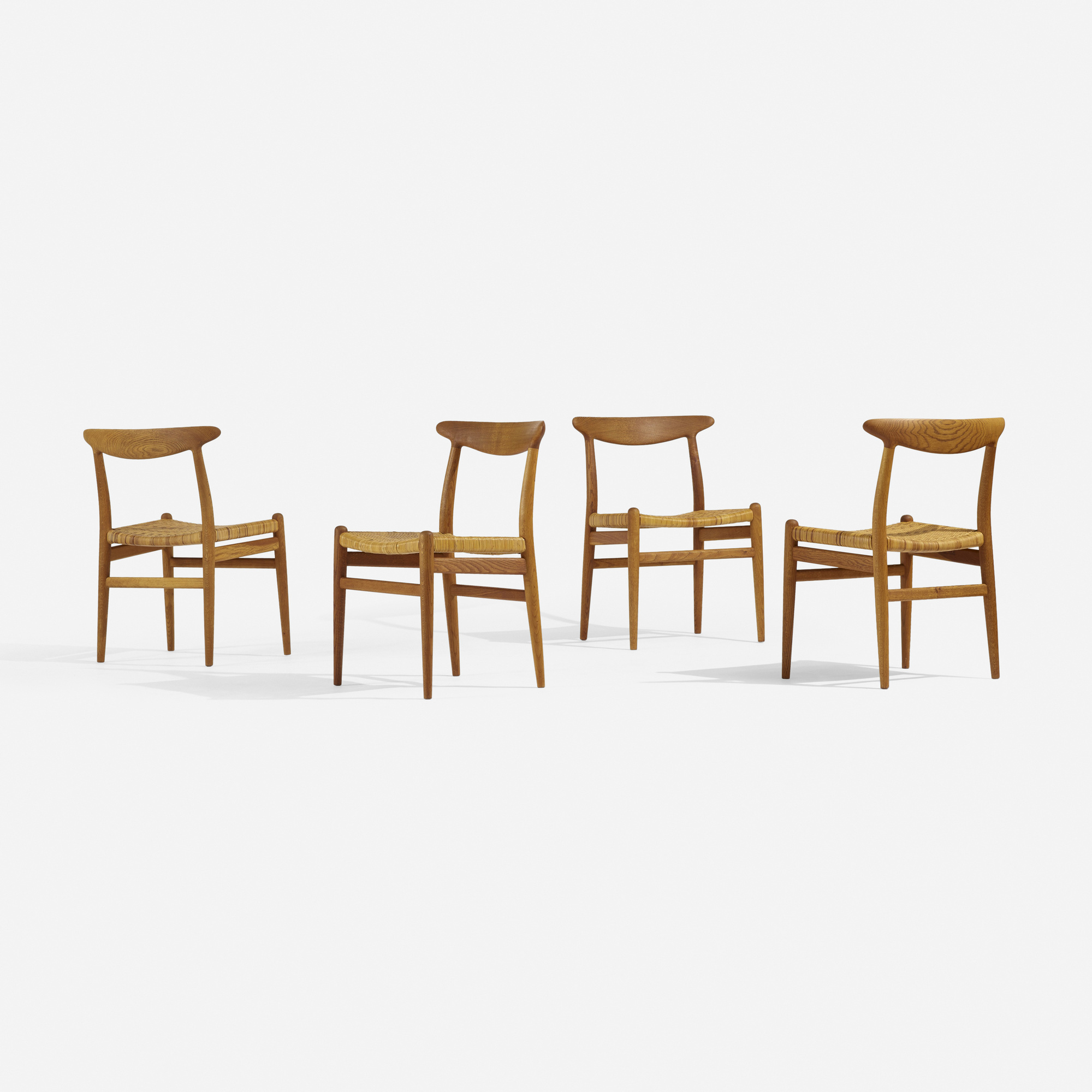 276: Hans J. Wegner / dining chairs, set of four (2 of 4)