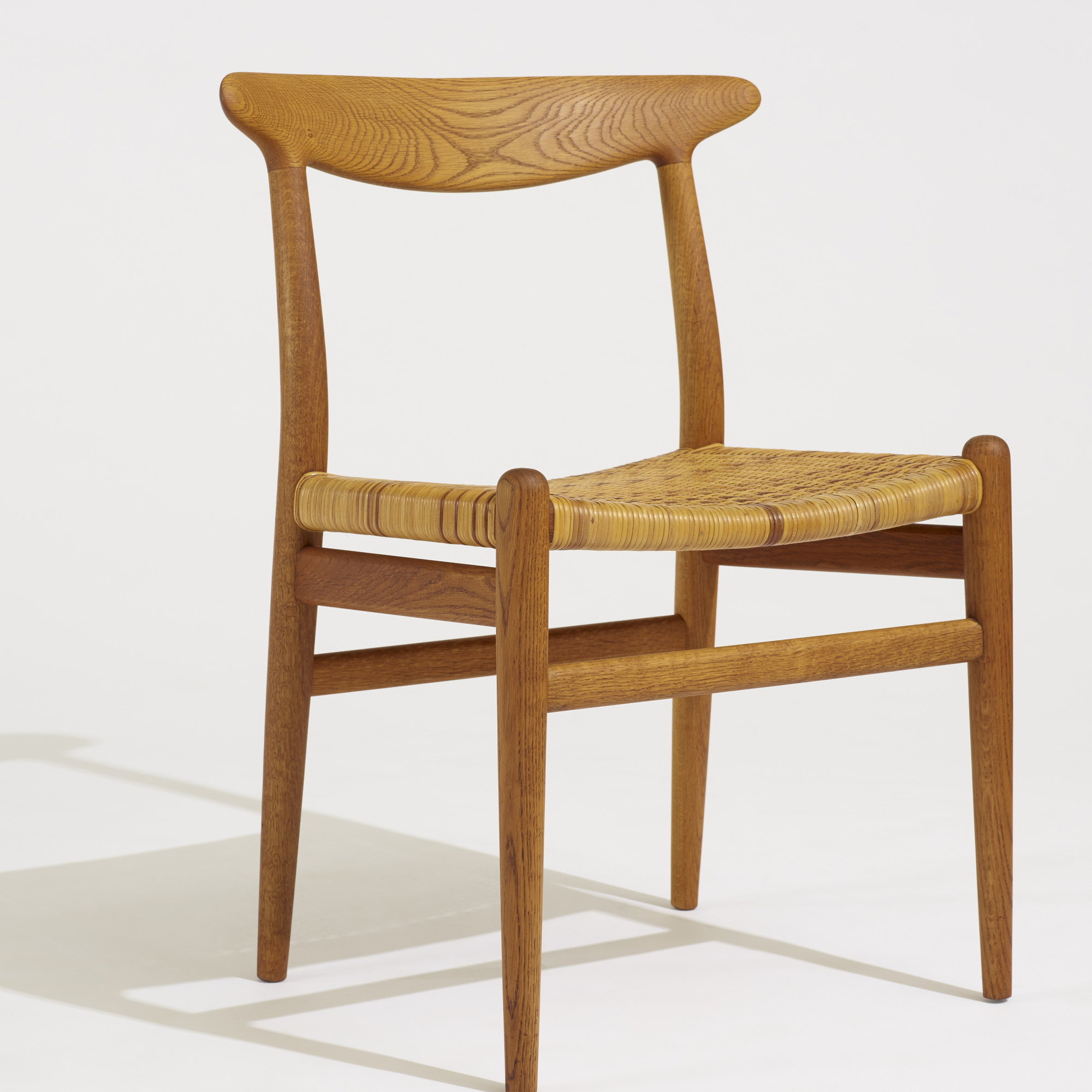 276: Hans J. Wegner / dining chairs, set of four (3 of 4)