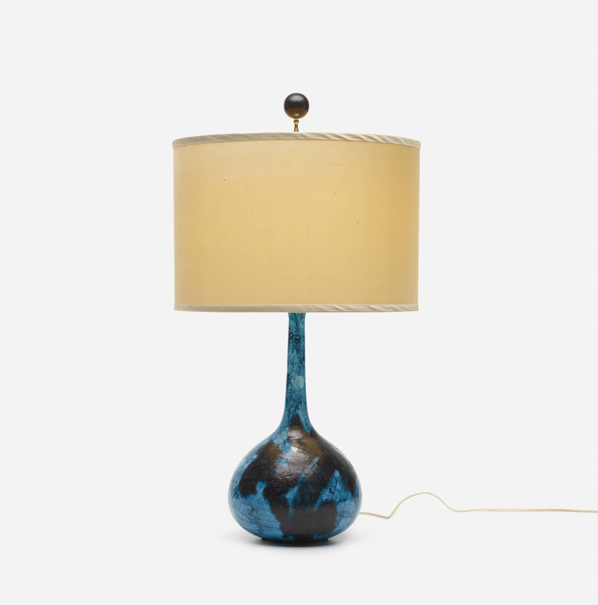 277: Guido Gambone / table lamp (1 of 3)