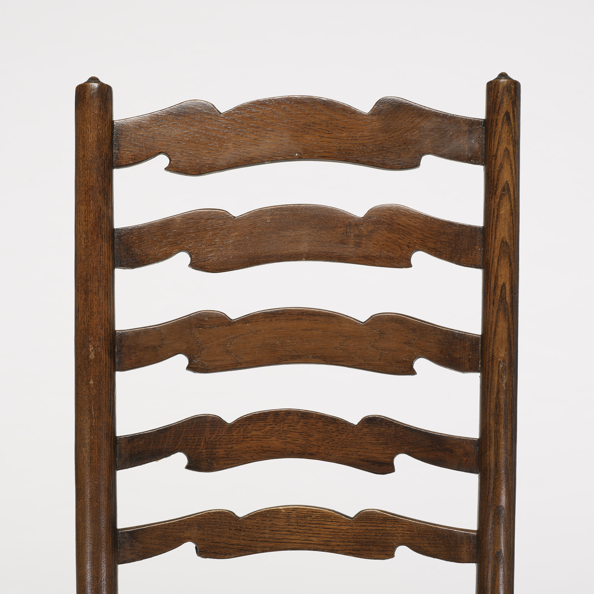 277: English / ladderback chairs, set of eight (4 of 4)