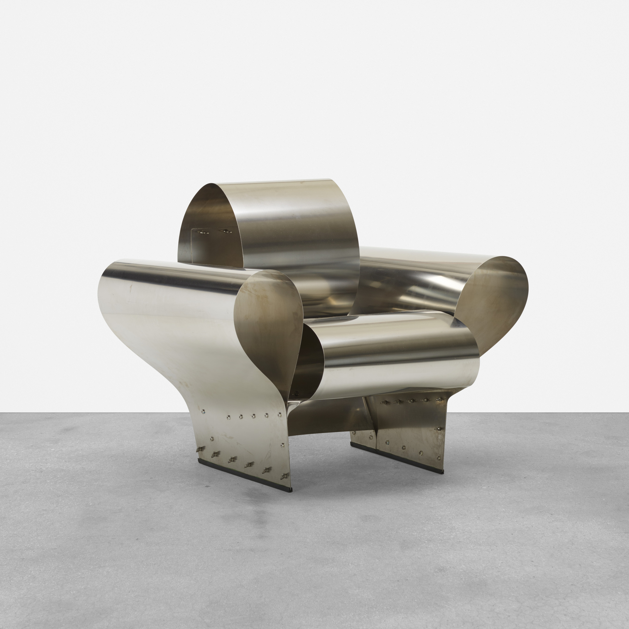 279 ron arad well tempered chair for Metal design chair