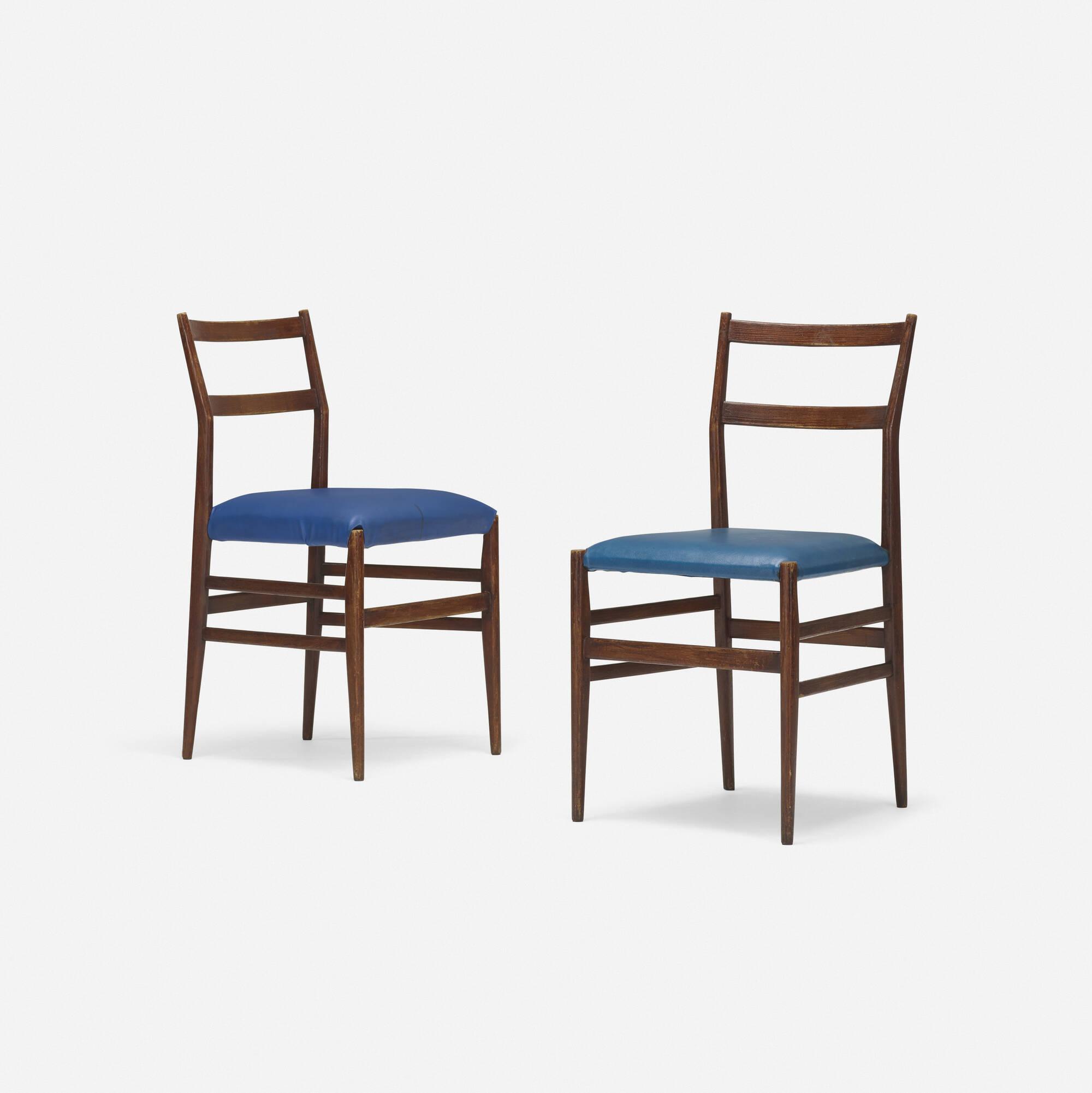 279: Gio Ponti / Leggera Chairs, Pair (1 Of 2)