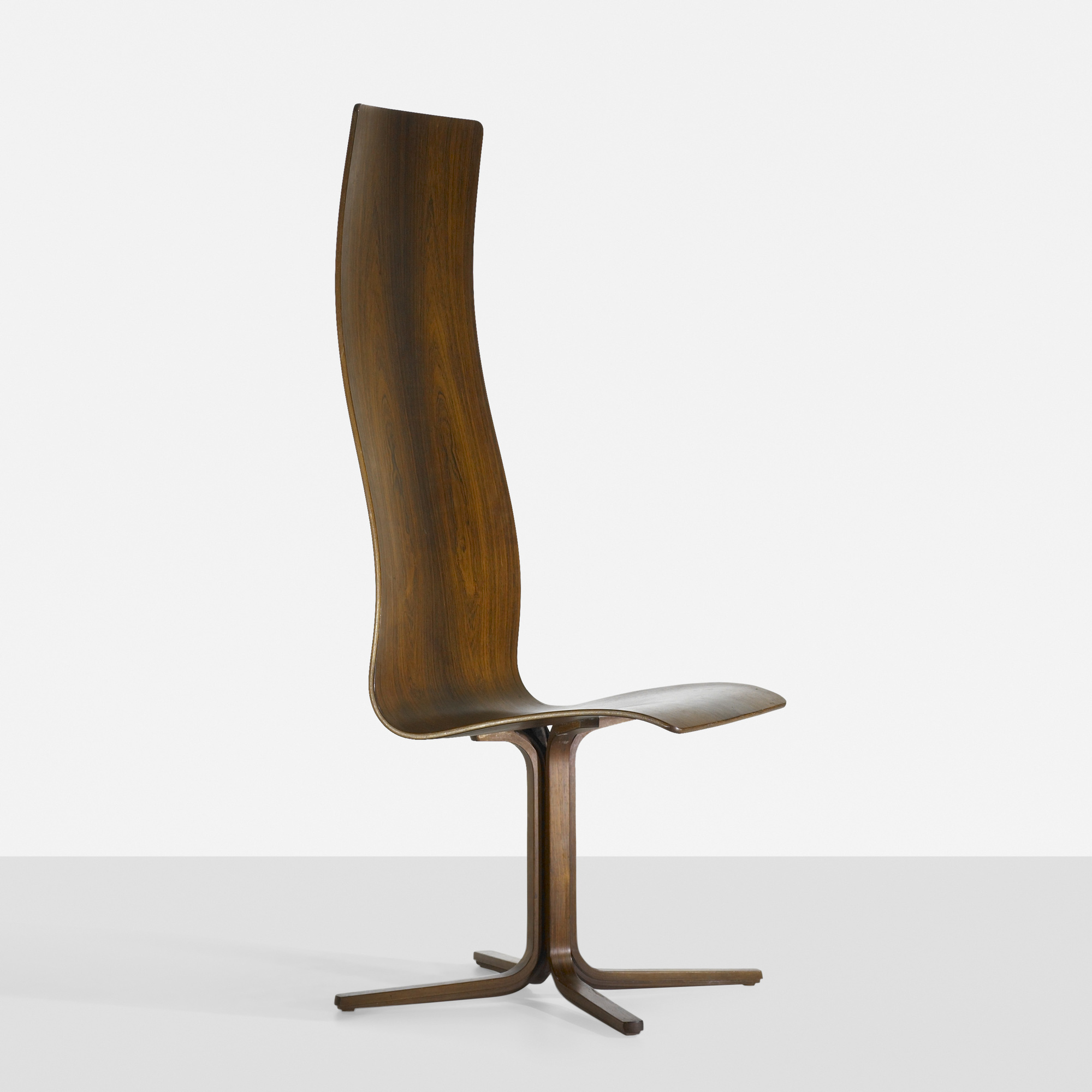 279 arne jacobsen rare oxford chair for st catherine apos s