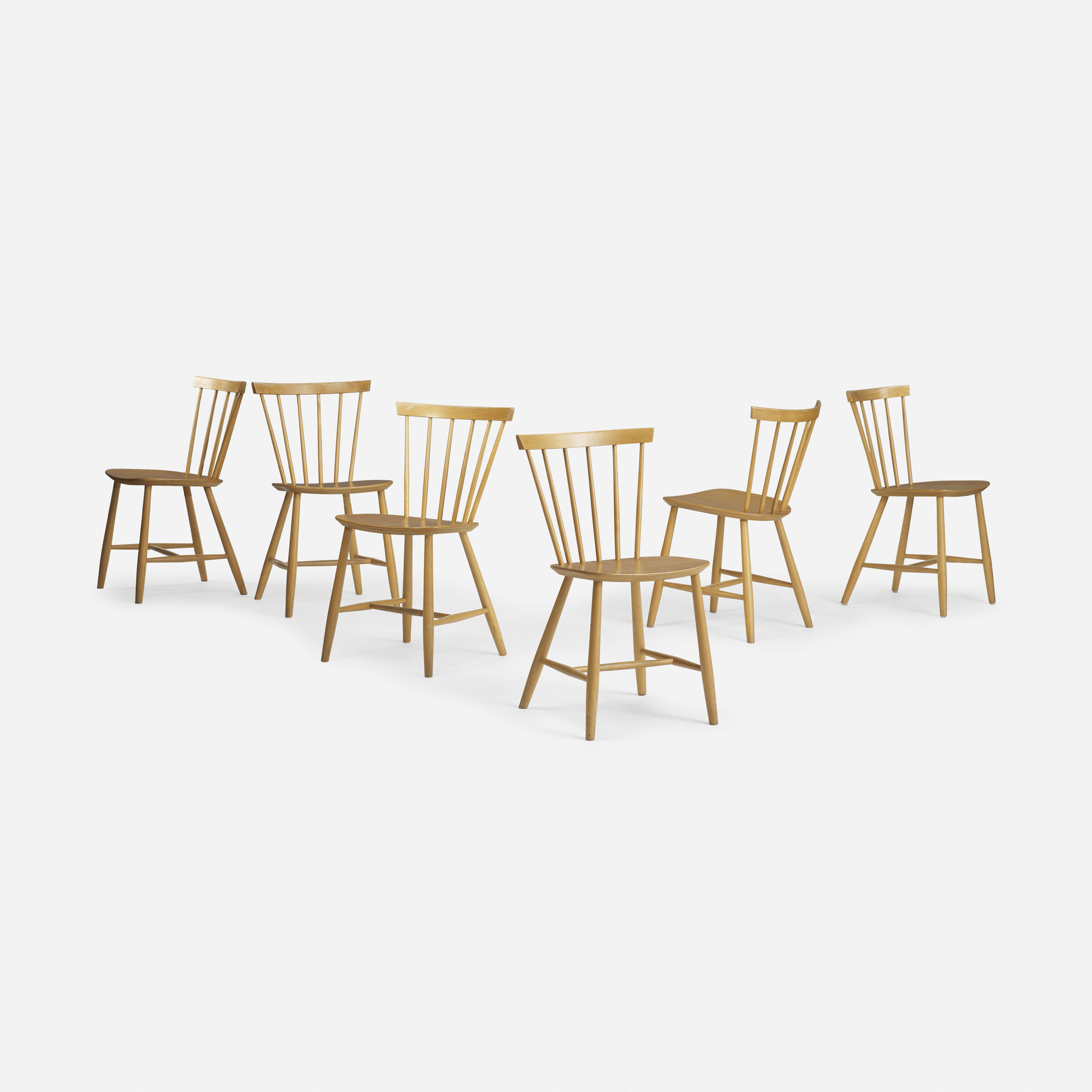 279: Poul Volther / dining chairs model J46, set of six (1 of 4)