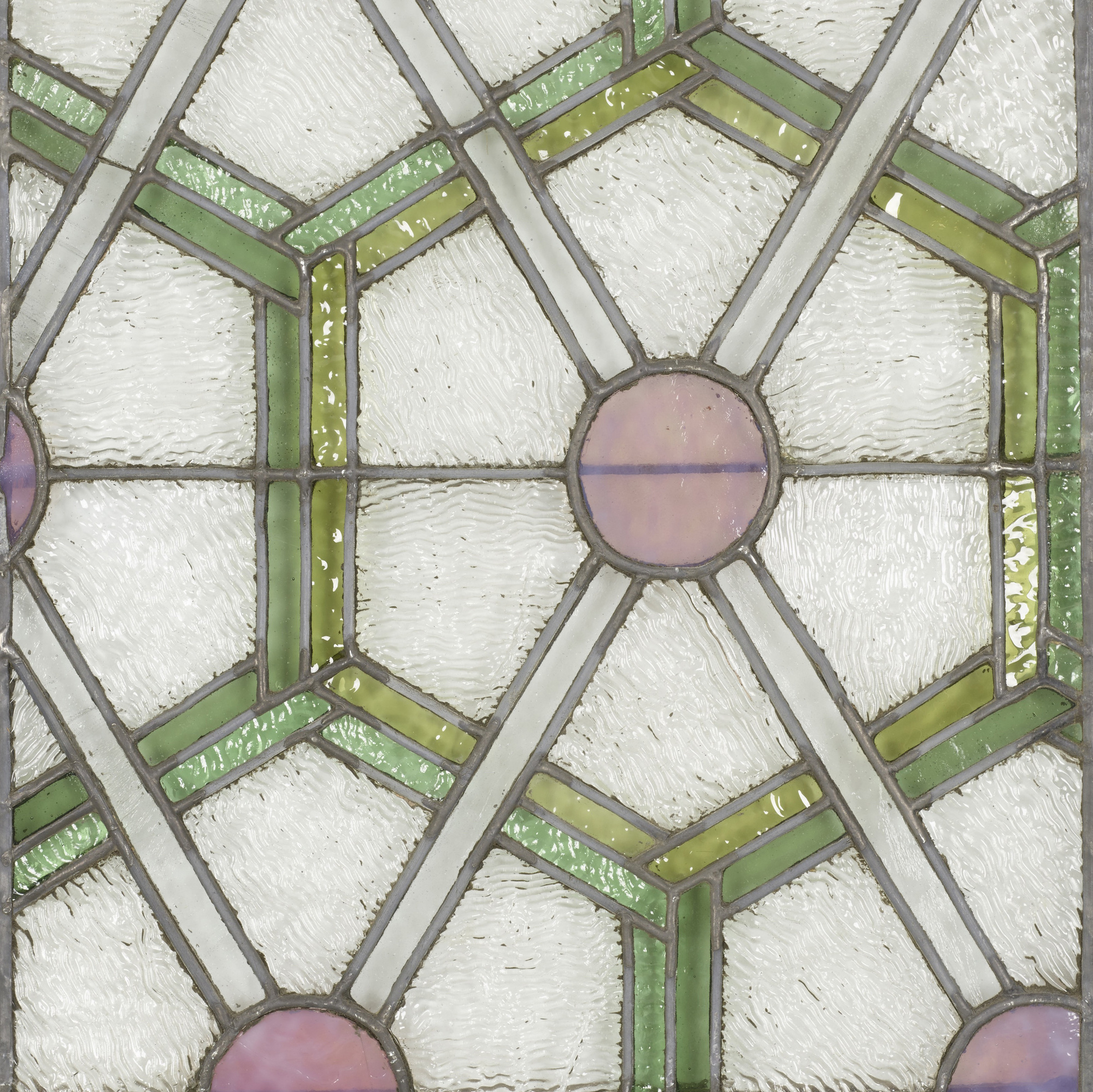 279: Dankmar Adler and Louis Sullivan / pair of windows from the Chicago Stock Exchange (2 of 2)