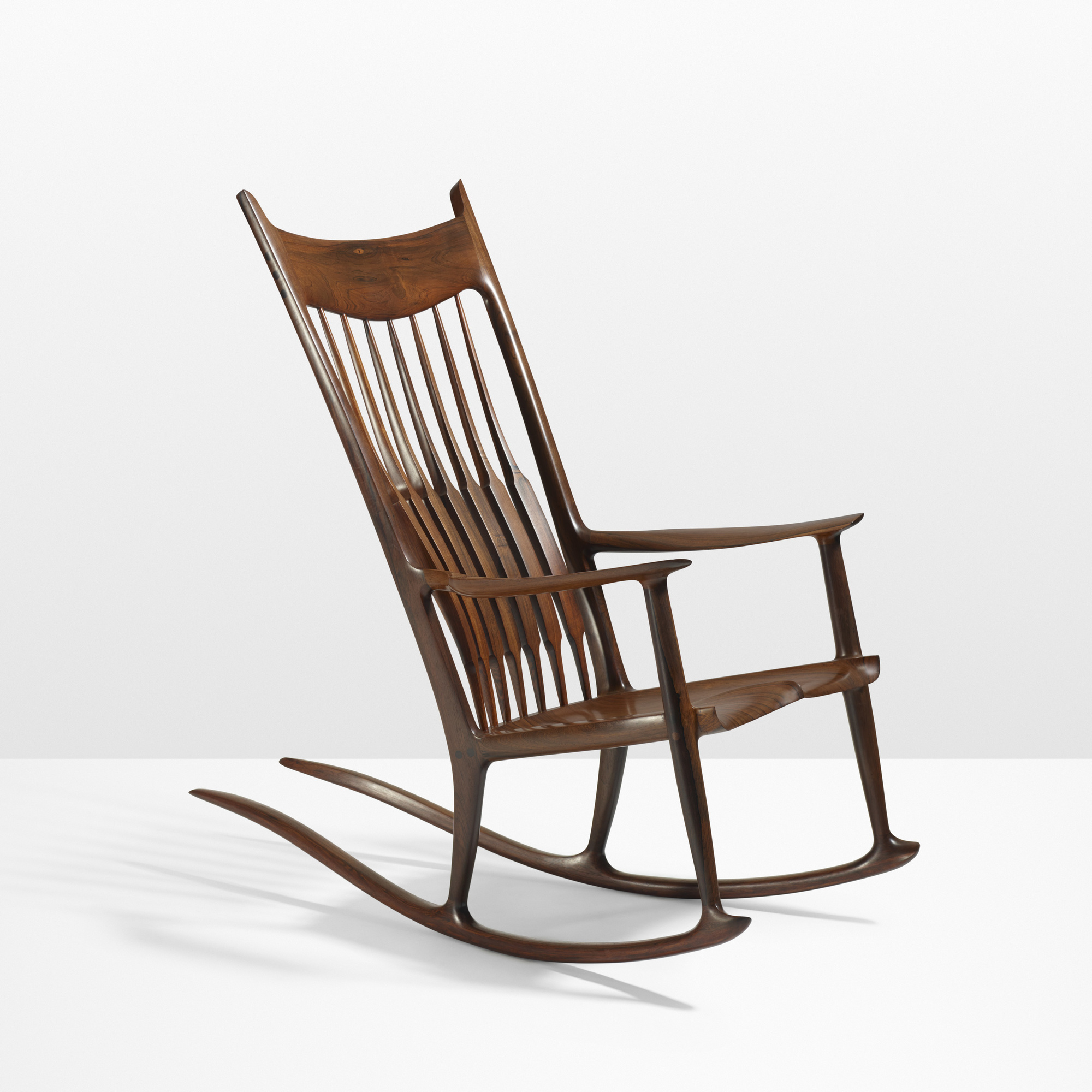 Sam Maloof. Important Rocking Chair