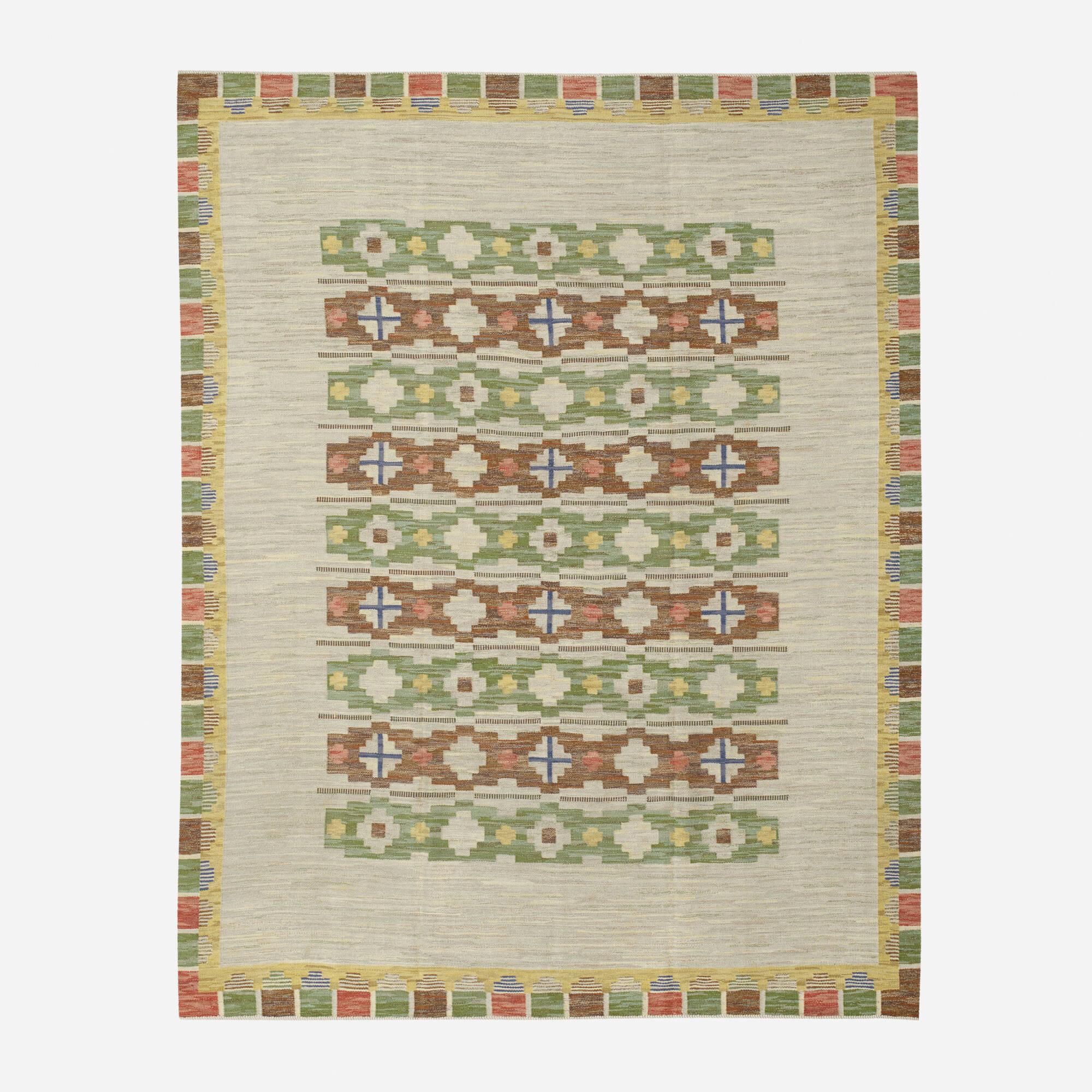 280: Swedish / flatweave carpet (1 of 2)