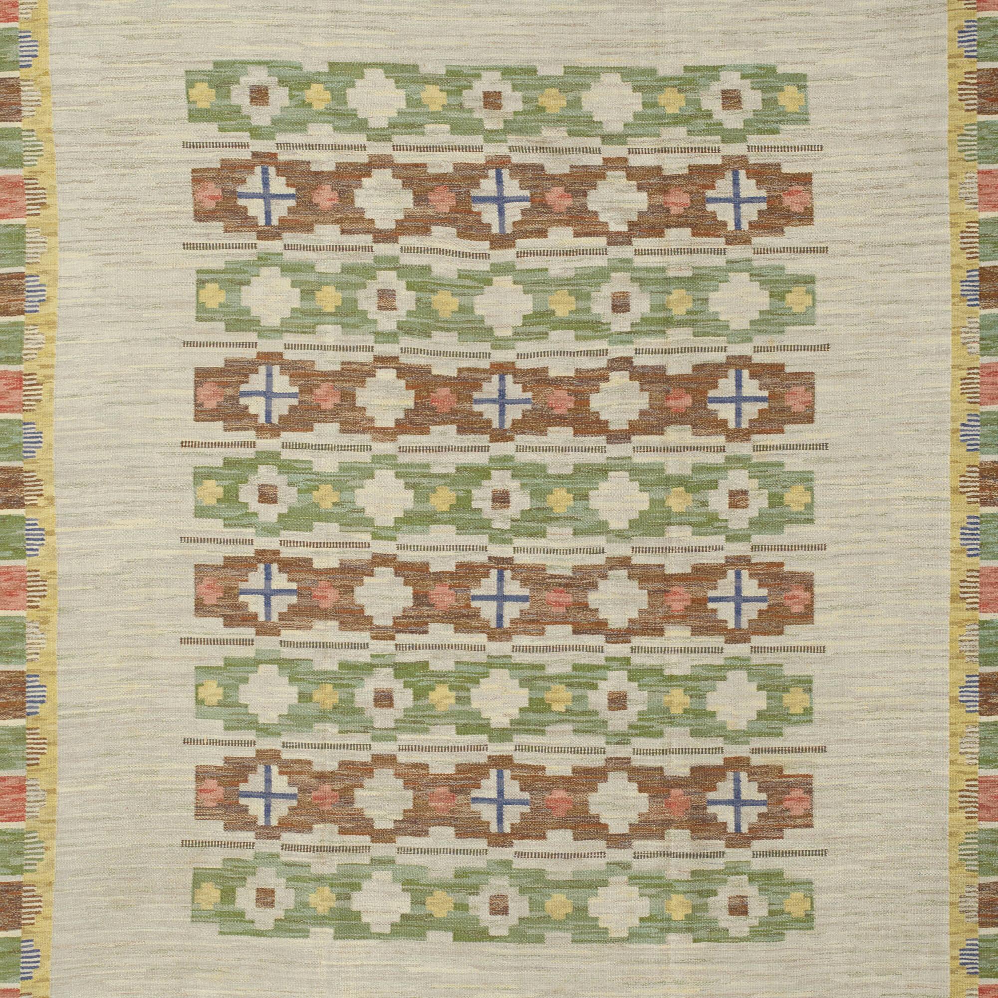 280: Swedish / flatweave carpet (2 of 2)