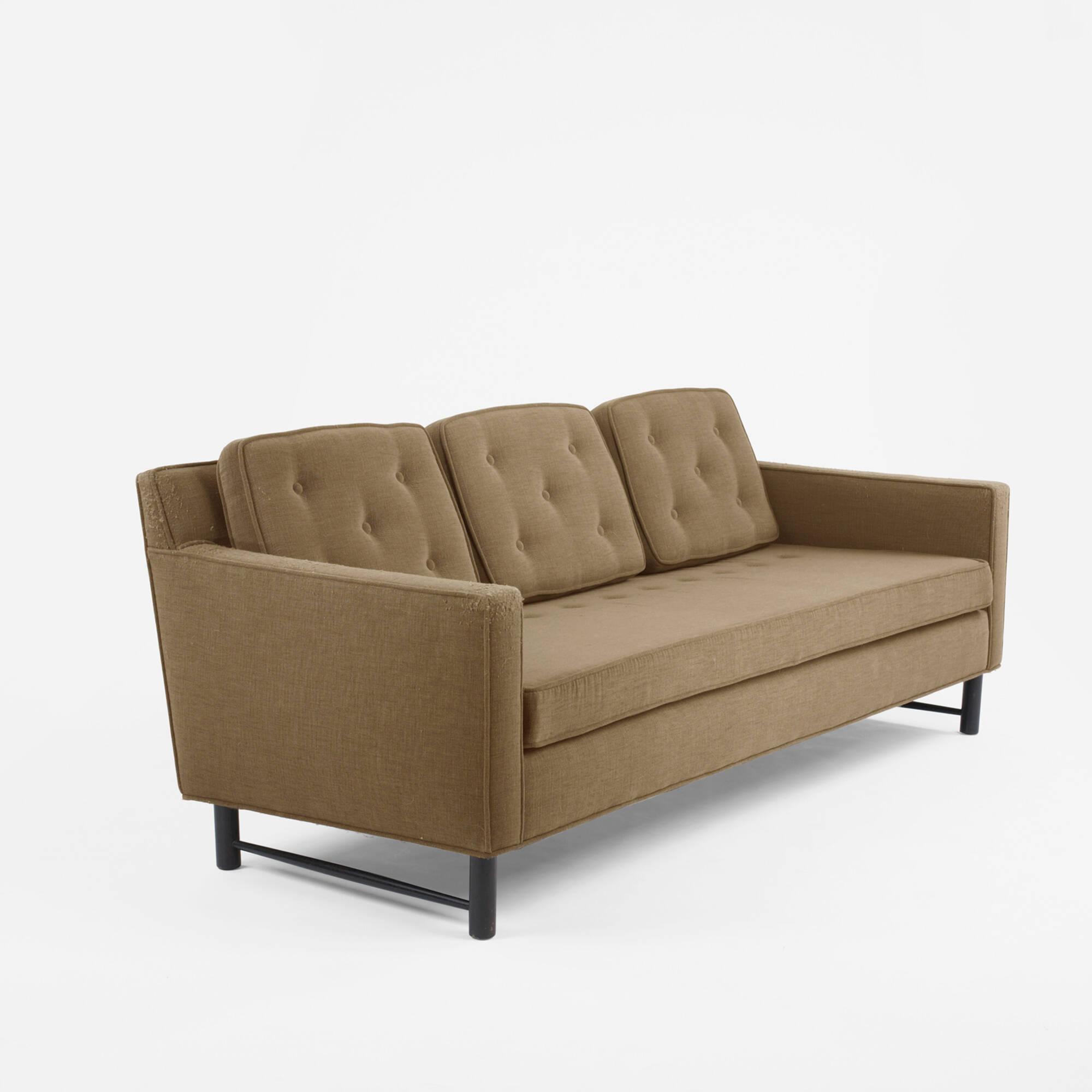 281: EDWARD WORMLEY, Sofa U003c Modern Design, 6 October 2009 U003c Auctions |  Wright: Auctions Of Art And Design